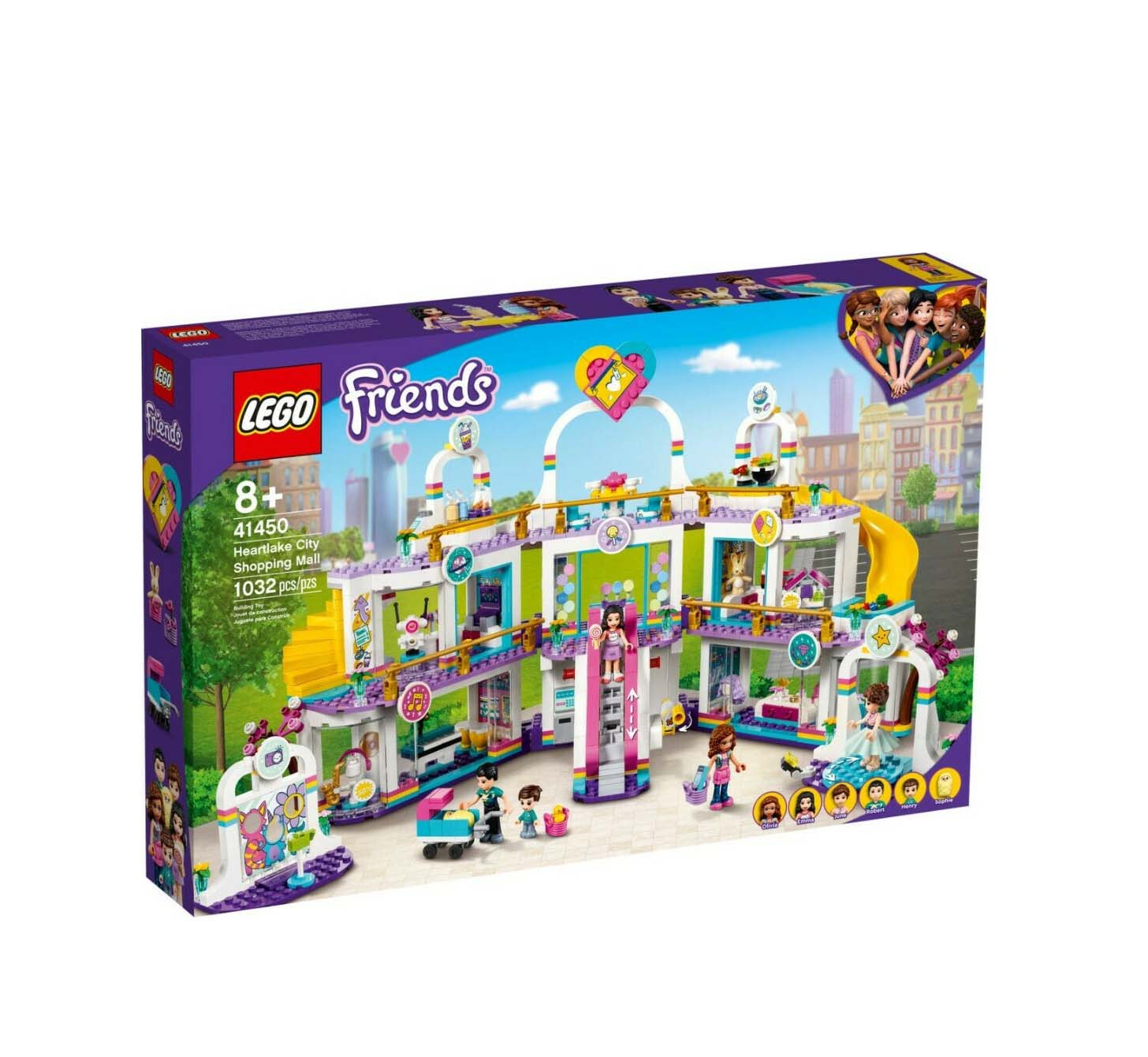 Lego Friends: Heartlake City Shopping Mall 41450