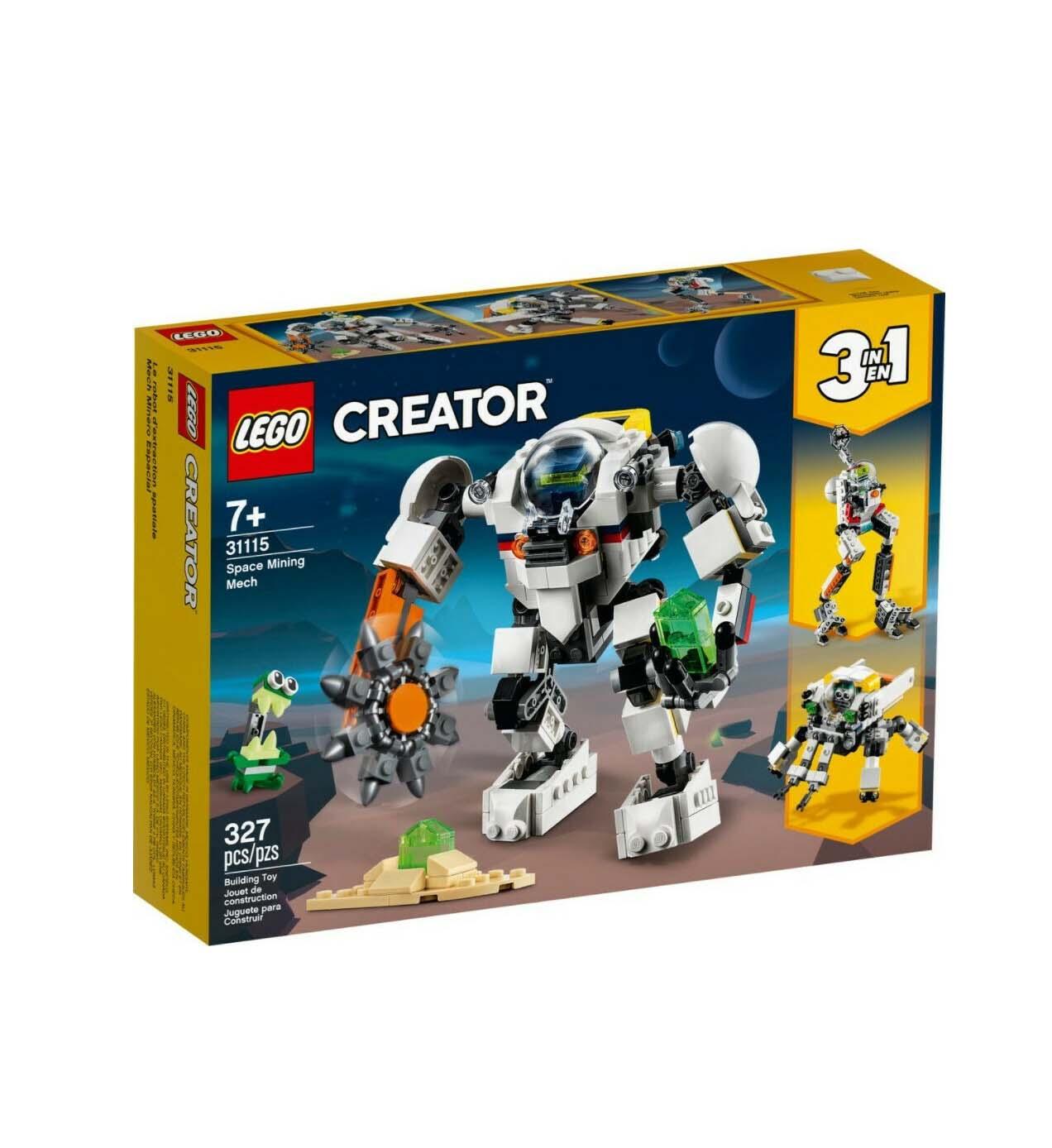 Lego Creator: Space Mining Mech 31115