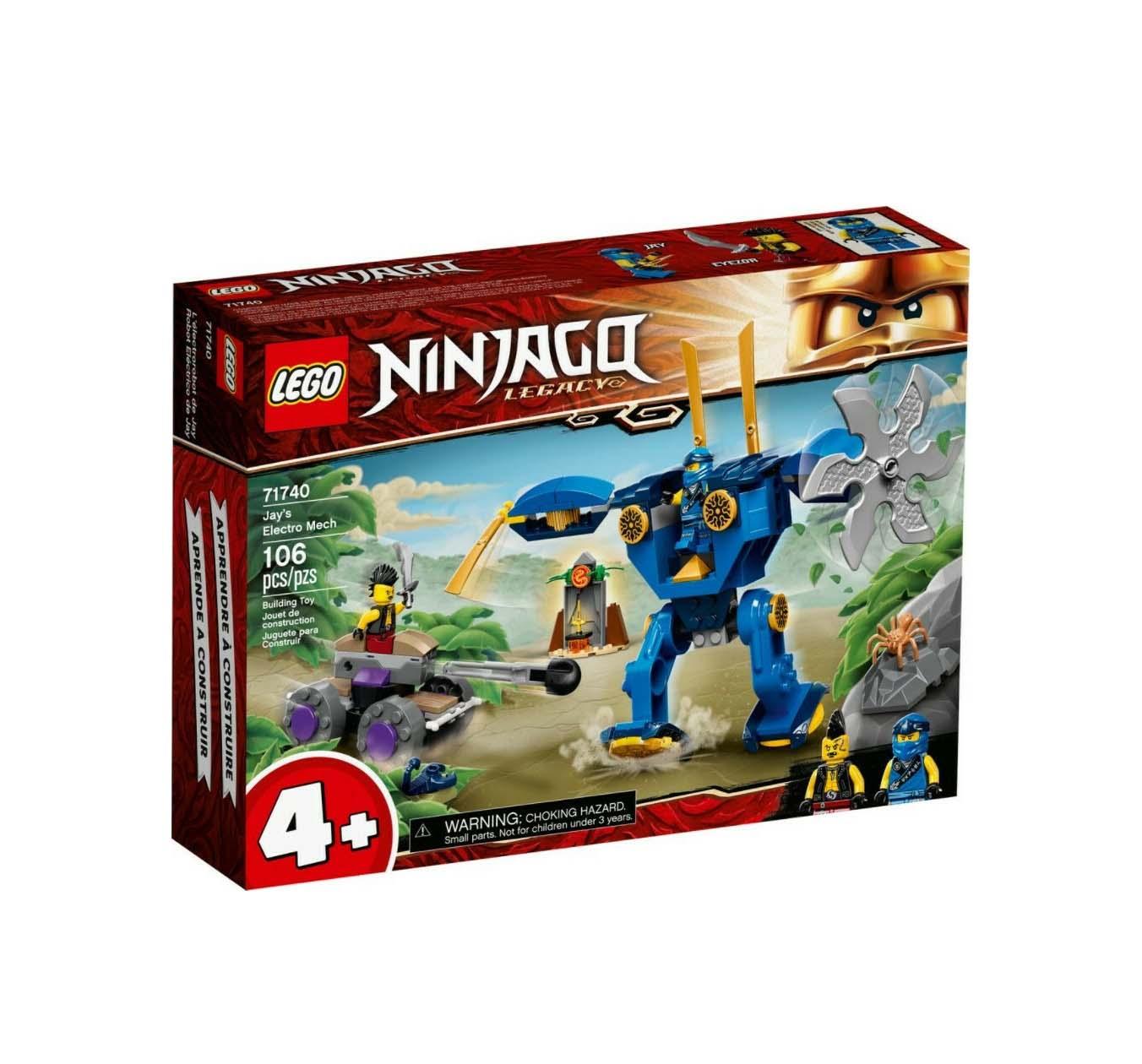 Lego Ninjago: Jay's Electro Mech 71740