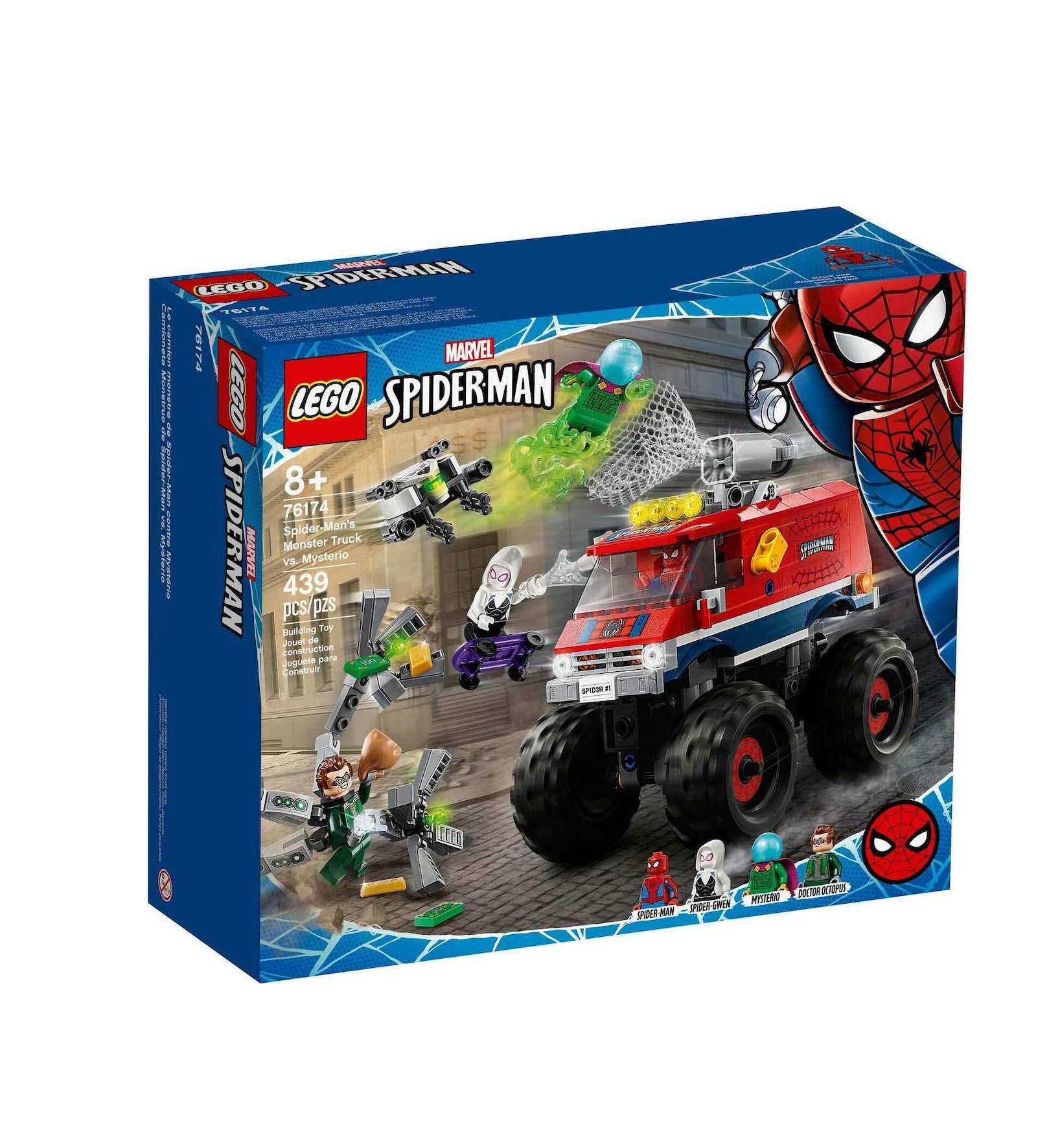 Lego Super Heroes: Marvel Spider-Man Monster Truck vs Mysterio 76174