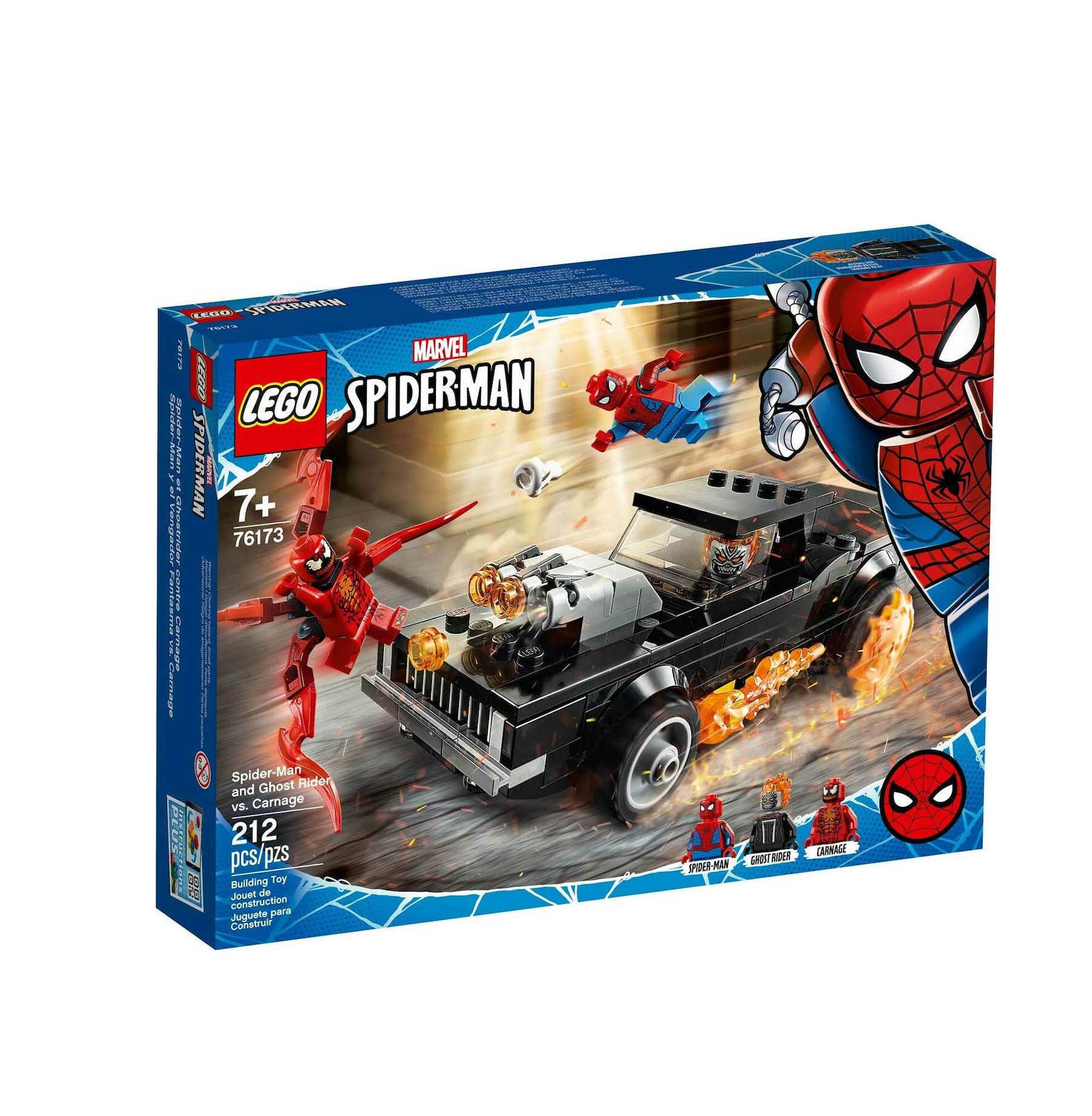 Lego Super Heroes: Spider-Man and Ghost Rider vs Carnage Marvel 76173