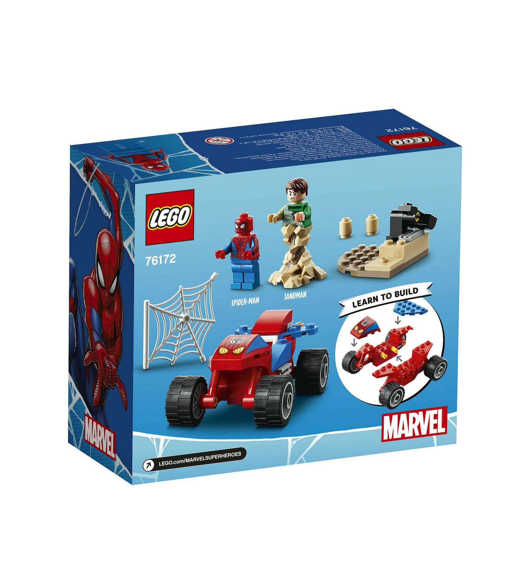Lego Super Heroes: Spider-Man and Sandman Showdown 76172