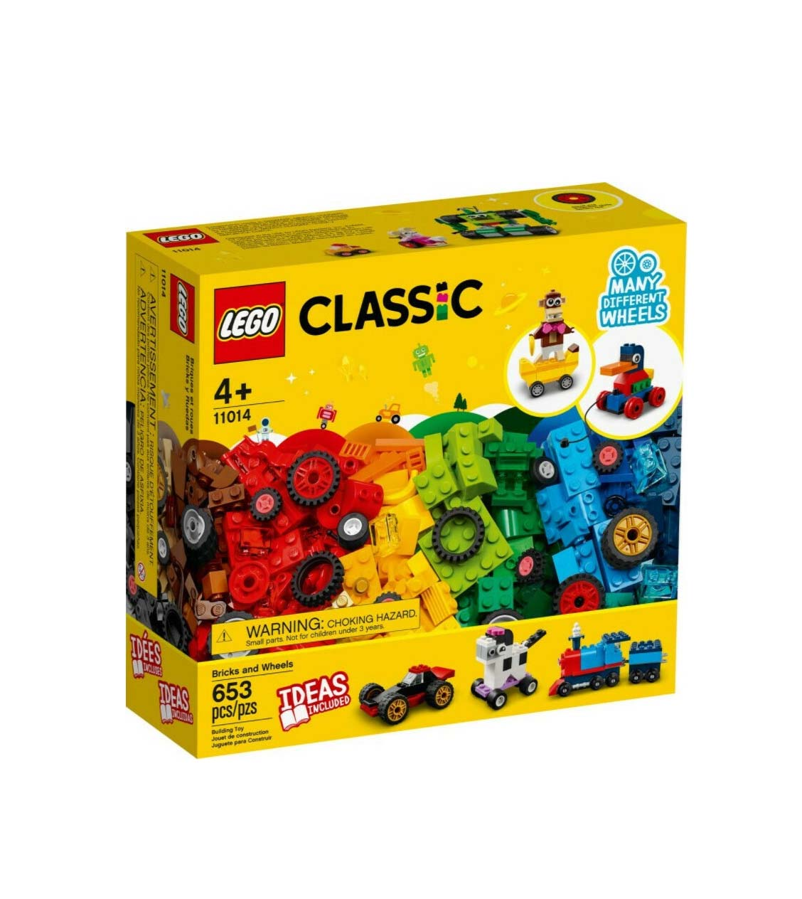 Lego Classic: Bricks and Wheels 11014