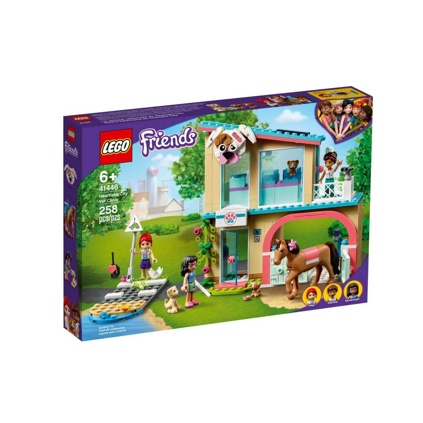 Lego City: Heartlake City Vet Clinic 41446