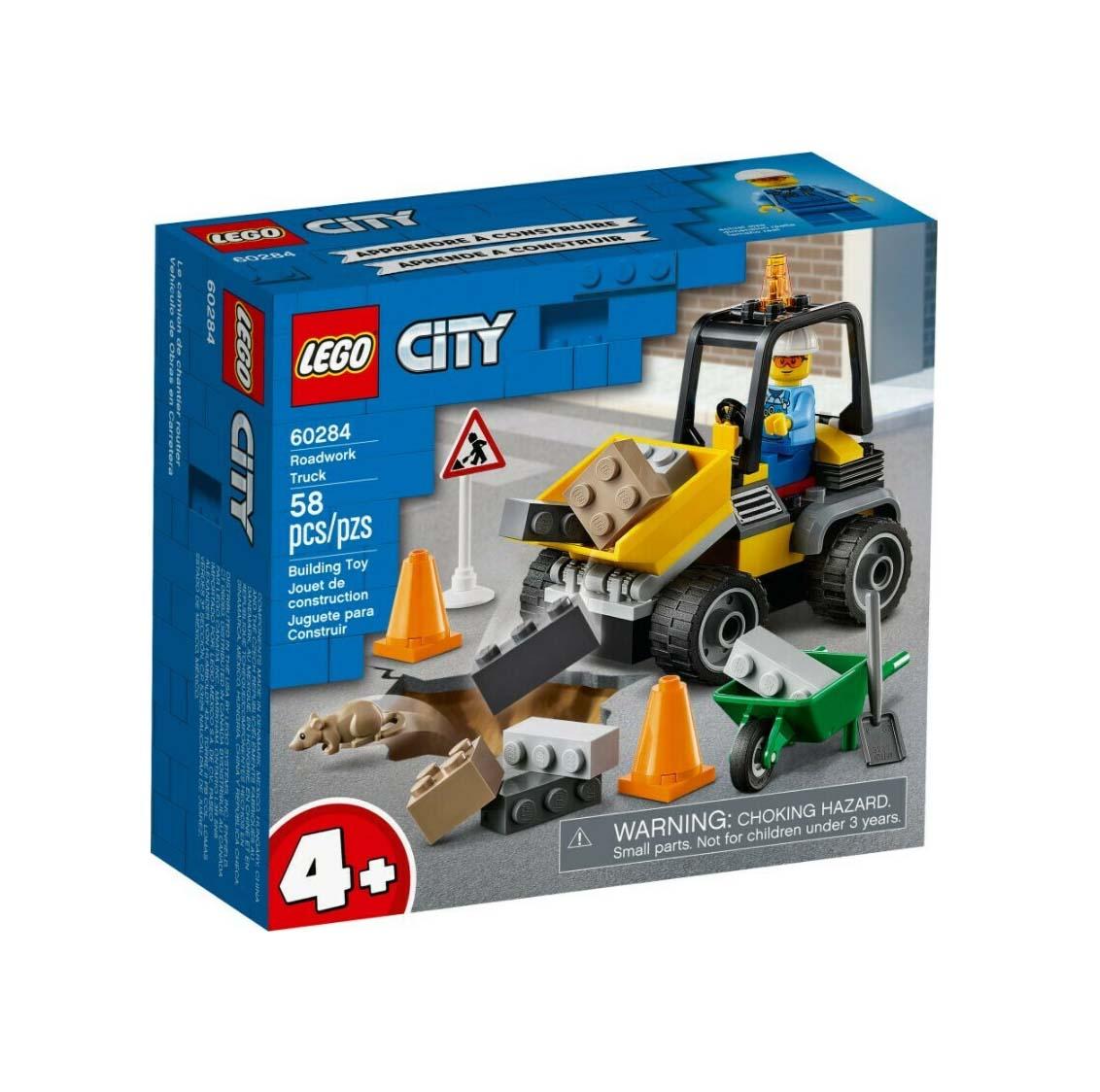 Lego City: Roadwork Truck 60284