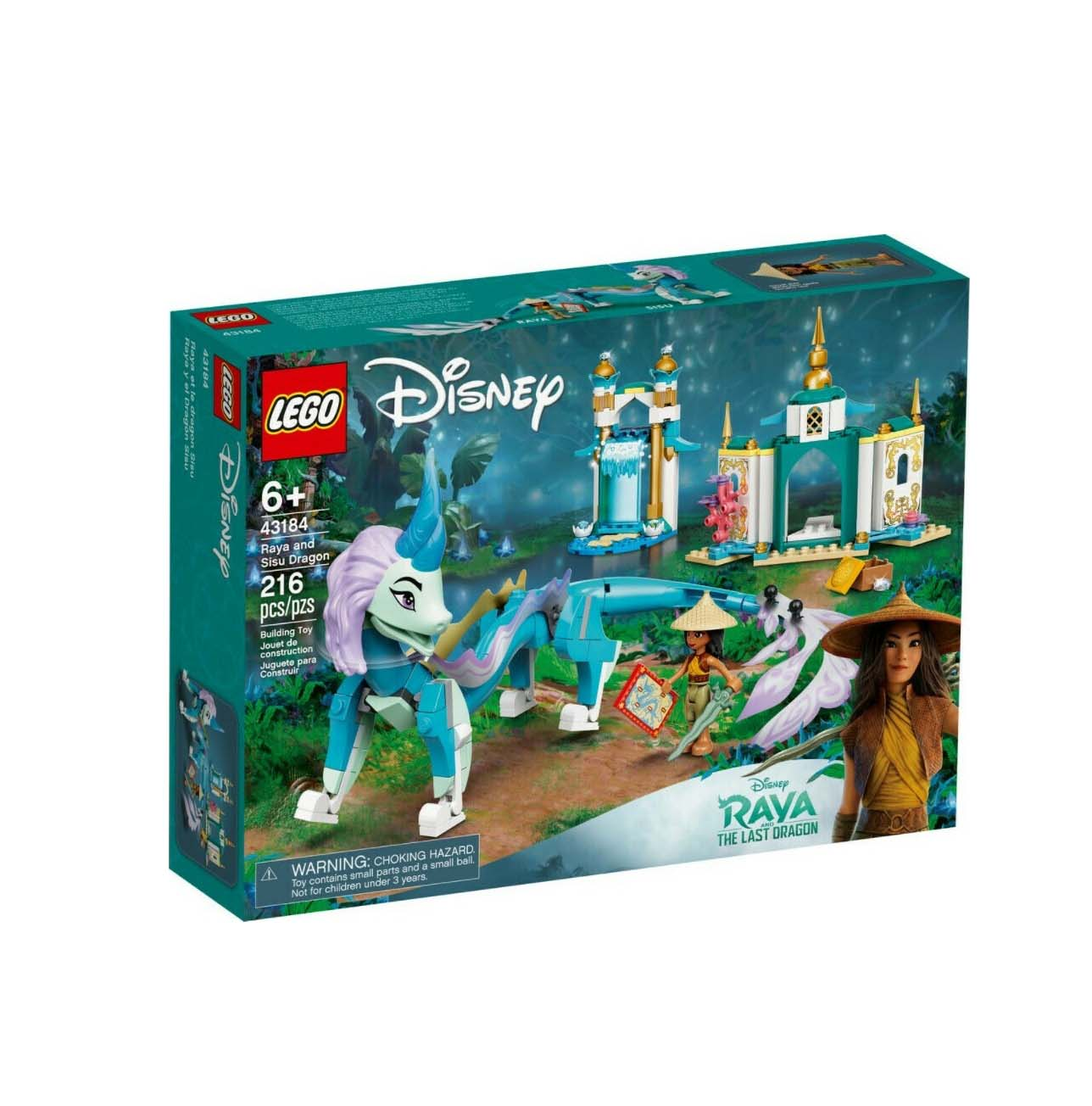 Lego Disney: Princess Raya and Sisu Dragon 43184