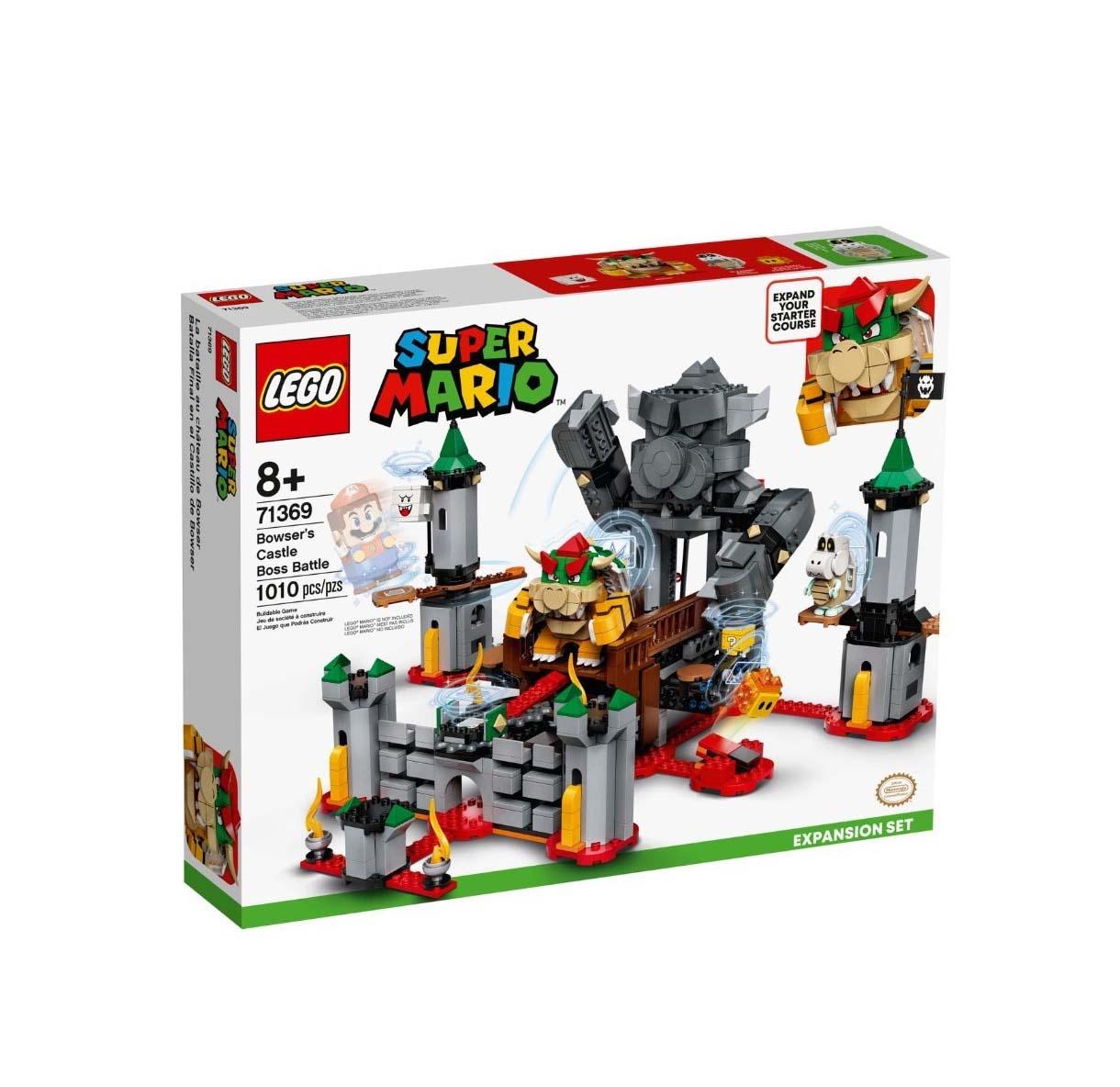 Lego Super Mario: Bowser's Castle Boss Battle 71369