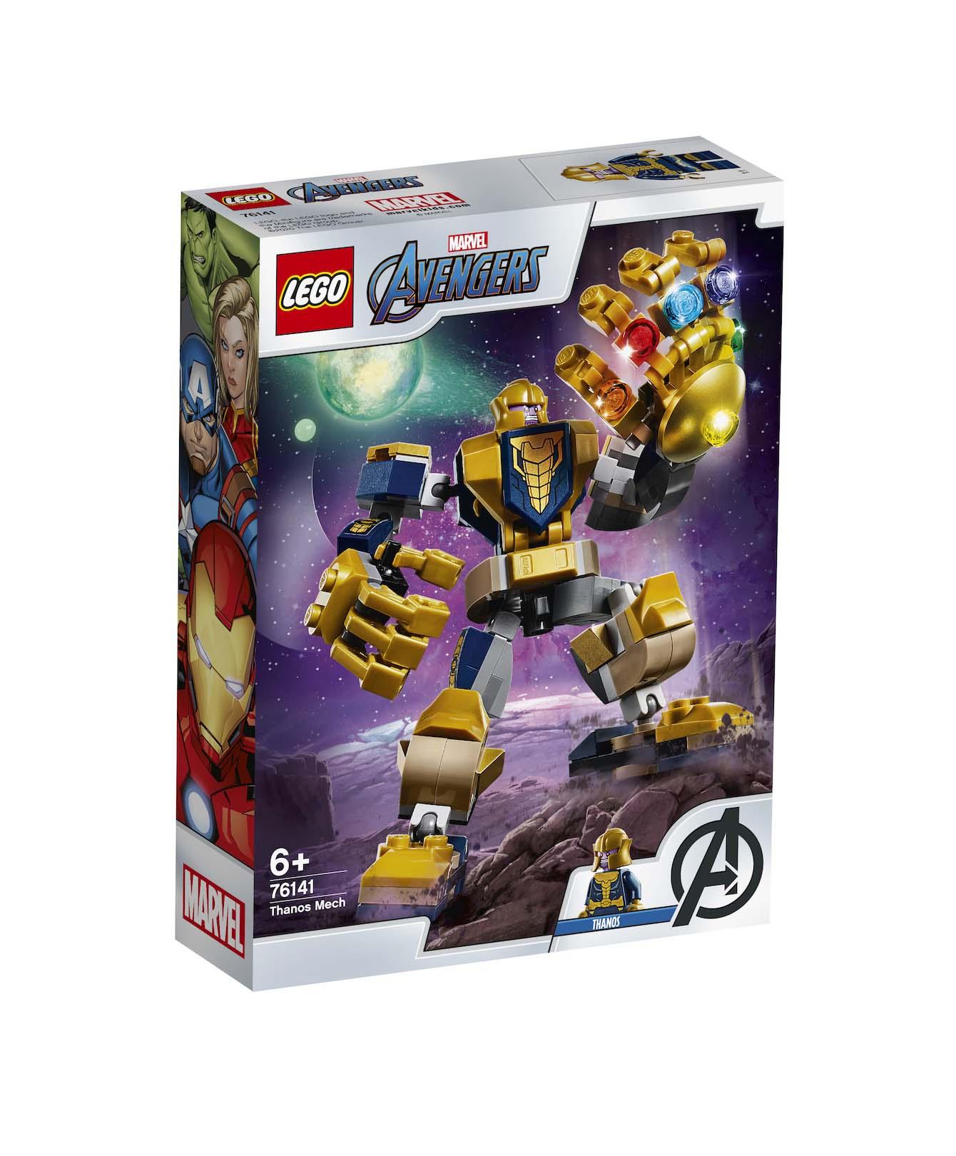 Lego Super Heroes: Thanos Mech 76141