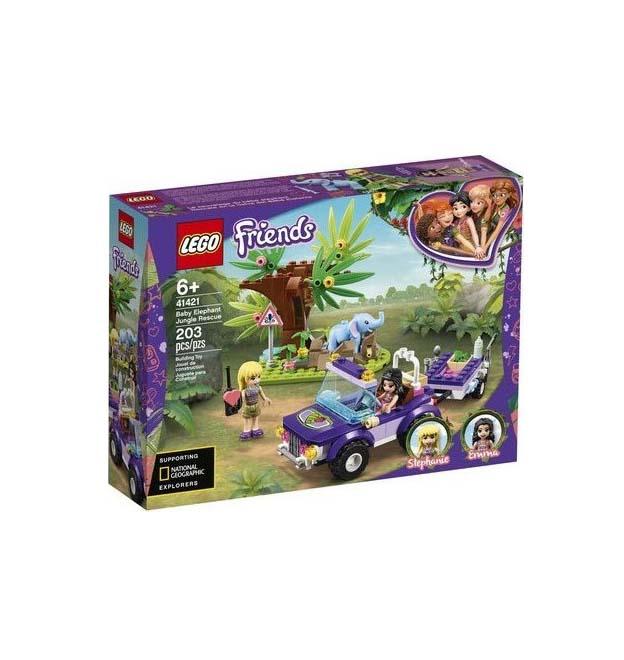 Lego Friends: Baby Elephant Jungle Rescue 41421