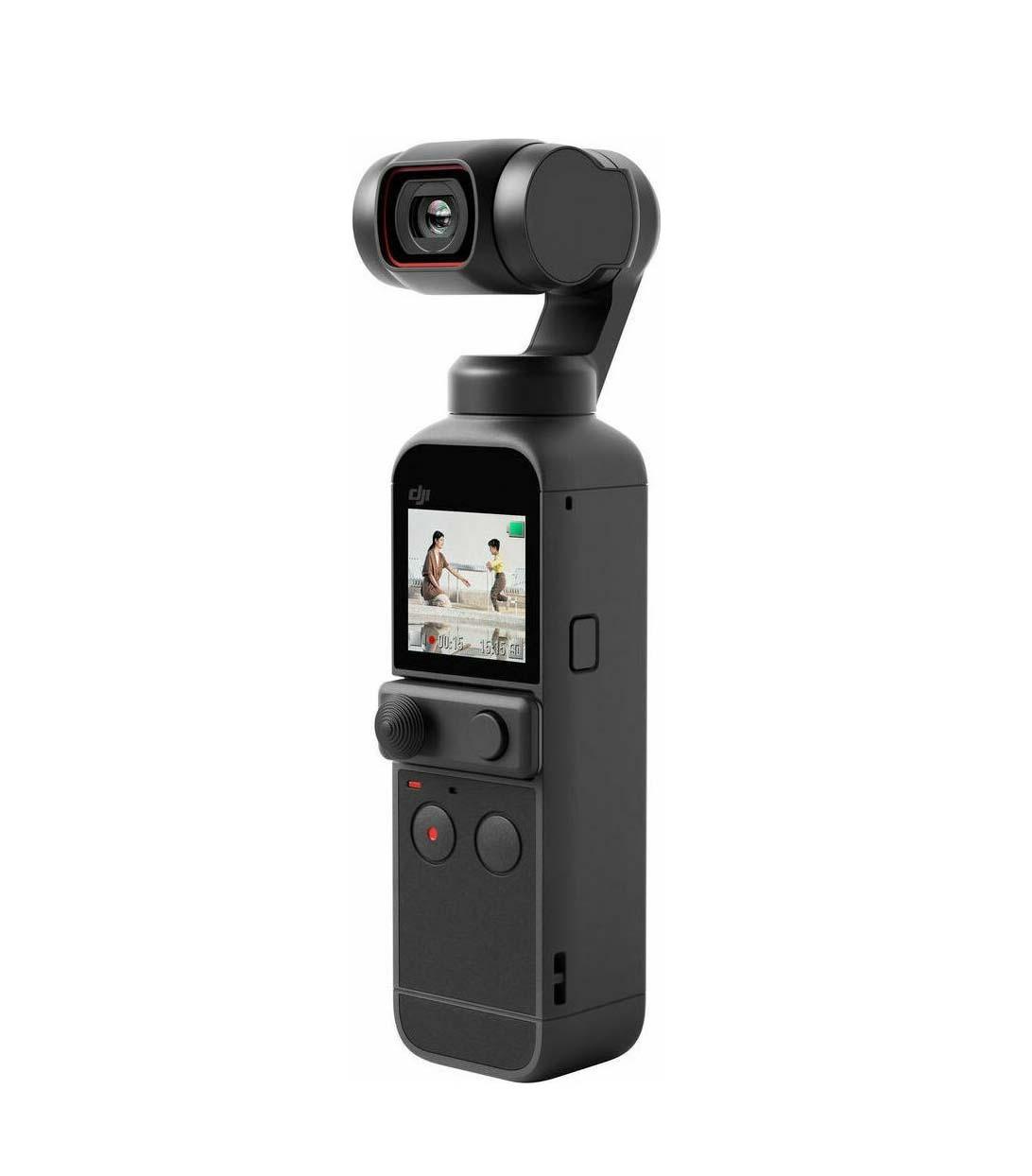 DJI Osmo Pocket 2 Action Camera Black Πληρωμή έως 24 δόσεις