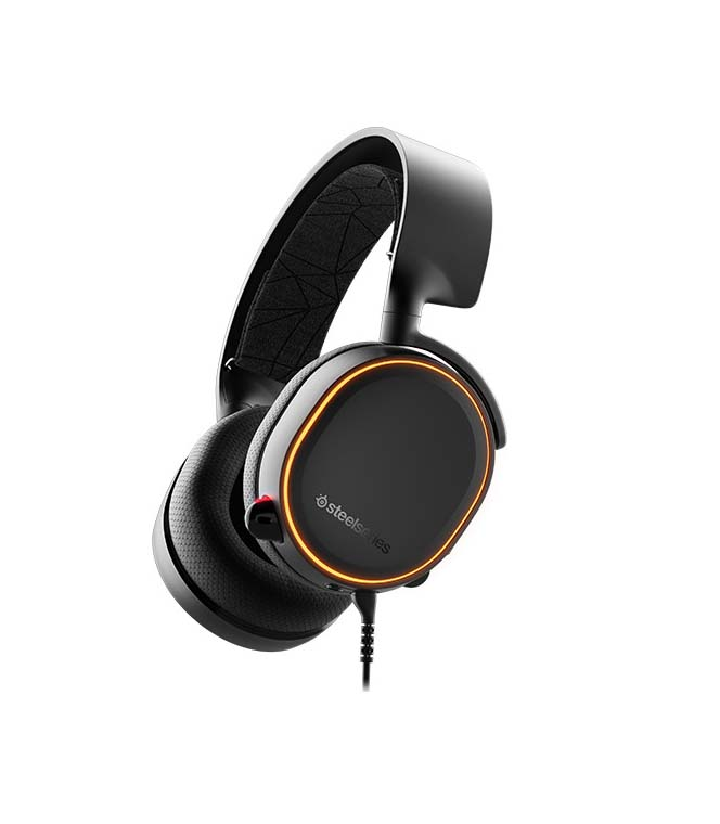 SteelSeries Arctis 5 2019 Edition Black Headphones 61504