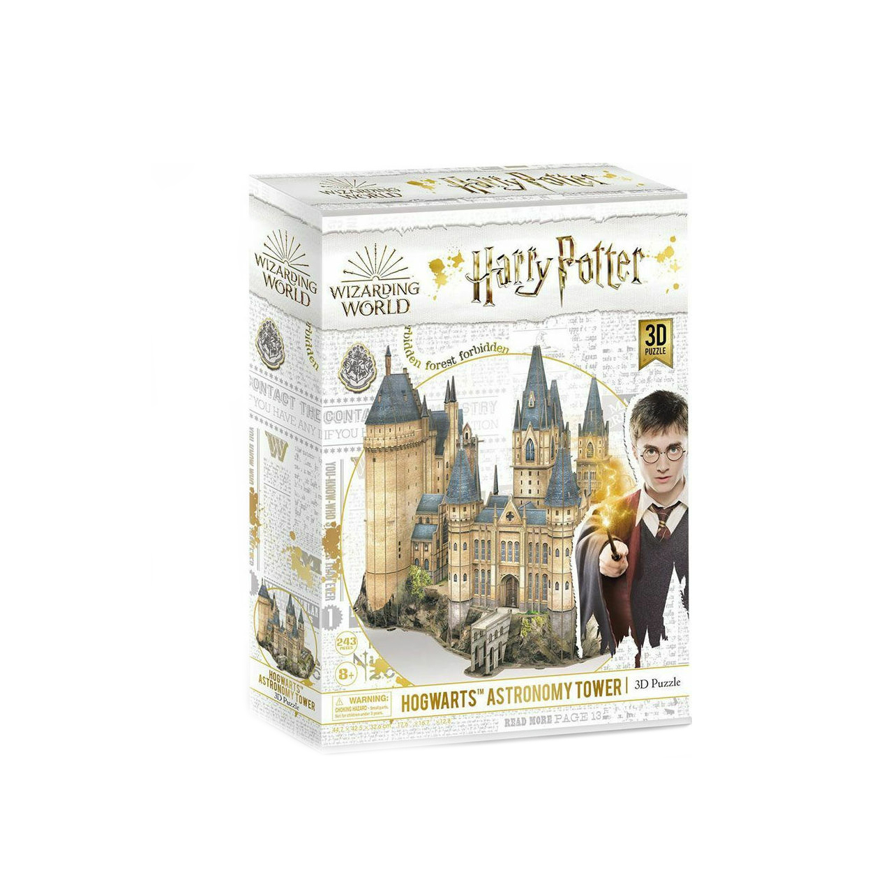 Harry Potter Puzzle Hogwarts Astronomy Tower 3D 243pcs DS1012h 420002