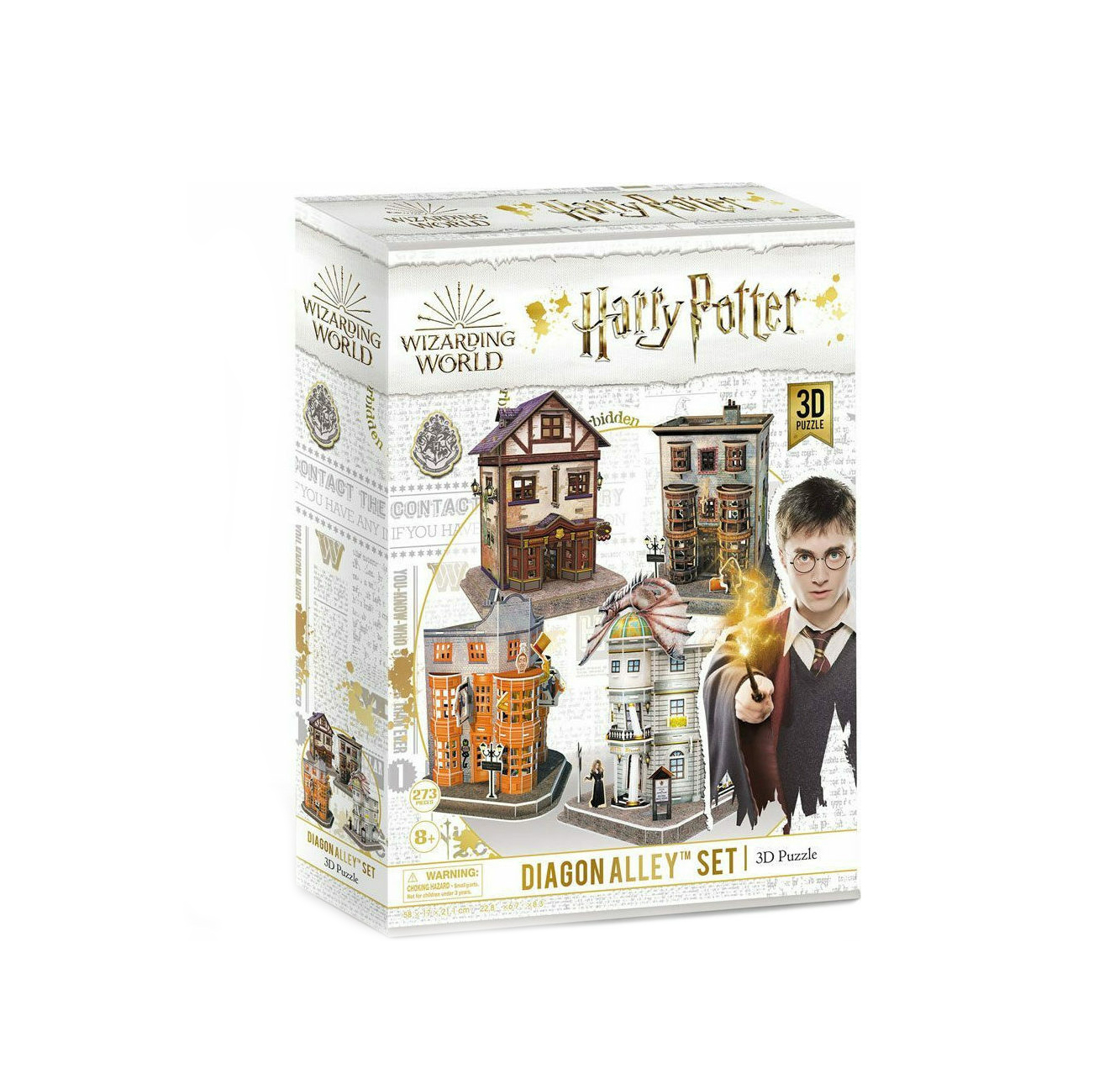 Harry Potter Diagon Alley Set 3D 273pcs DS1009h 420005