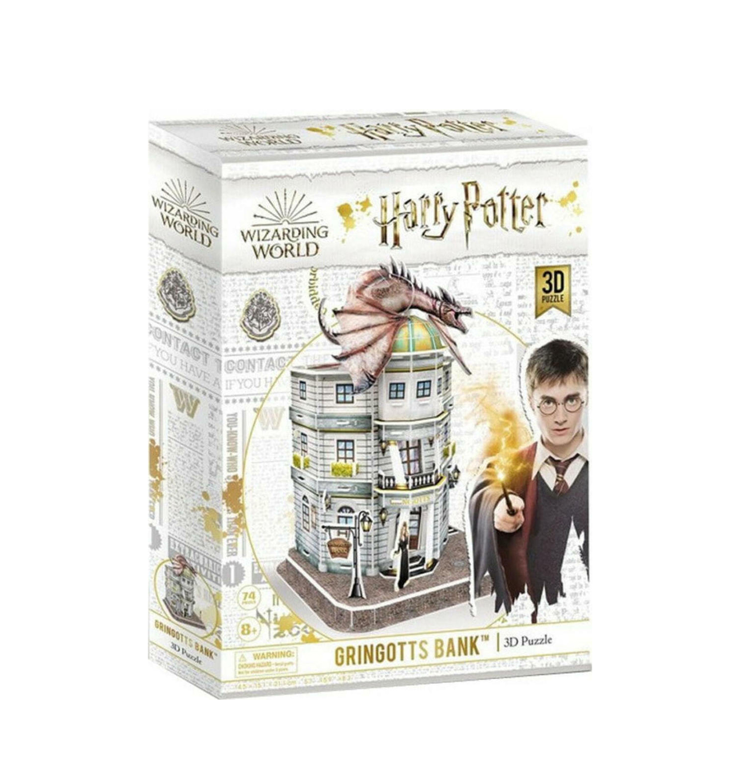 Harry Potter Diagon Alley Gringotts Bank 3D 74pcs DS1005h 420006