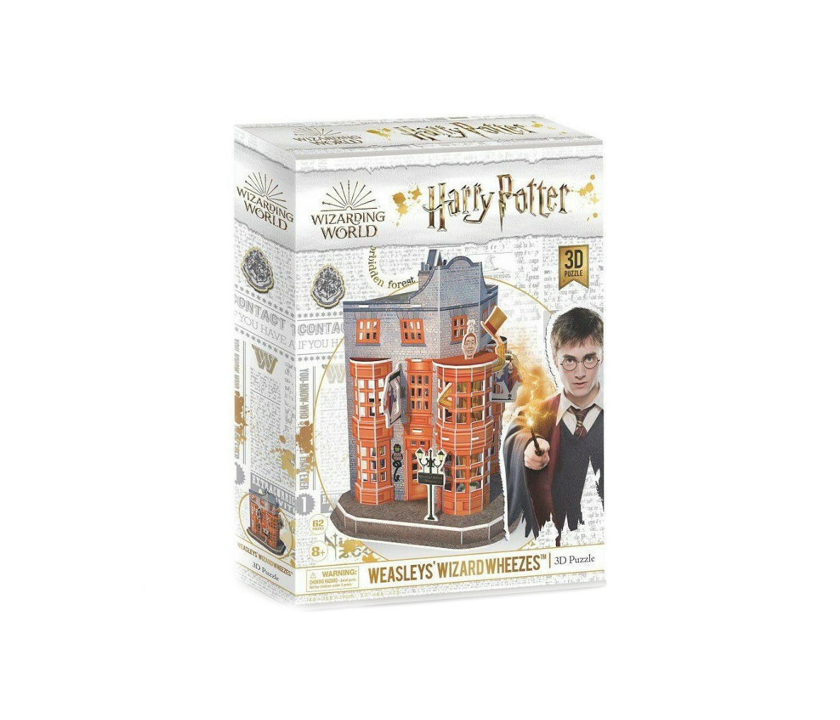 Harry Potter Diagon Alley Weasleys' Wizard Wheezes 3D 62pcs DS1007h 420008