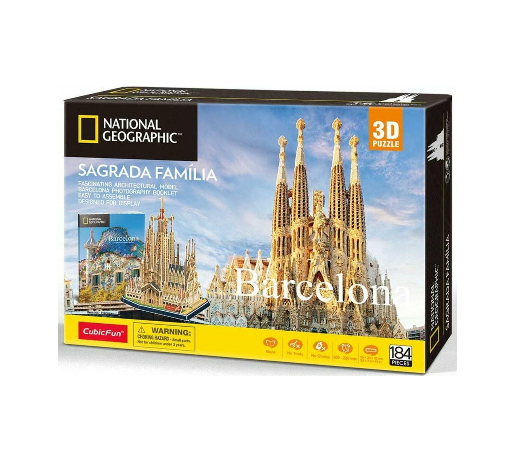 National Geographic Sagrada Familia 3D 184pcs DS0984h 420018