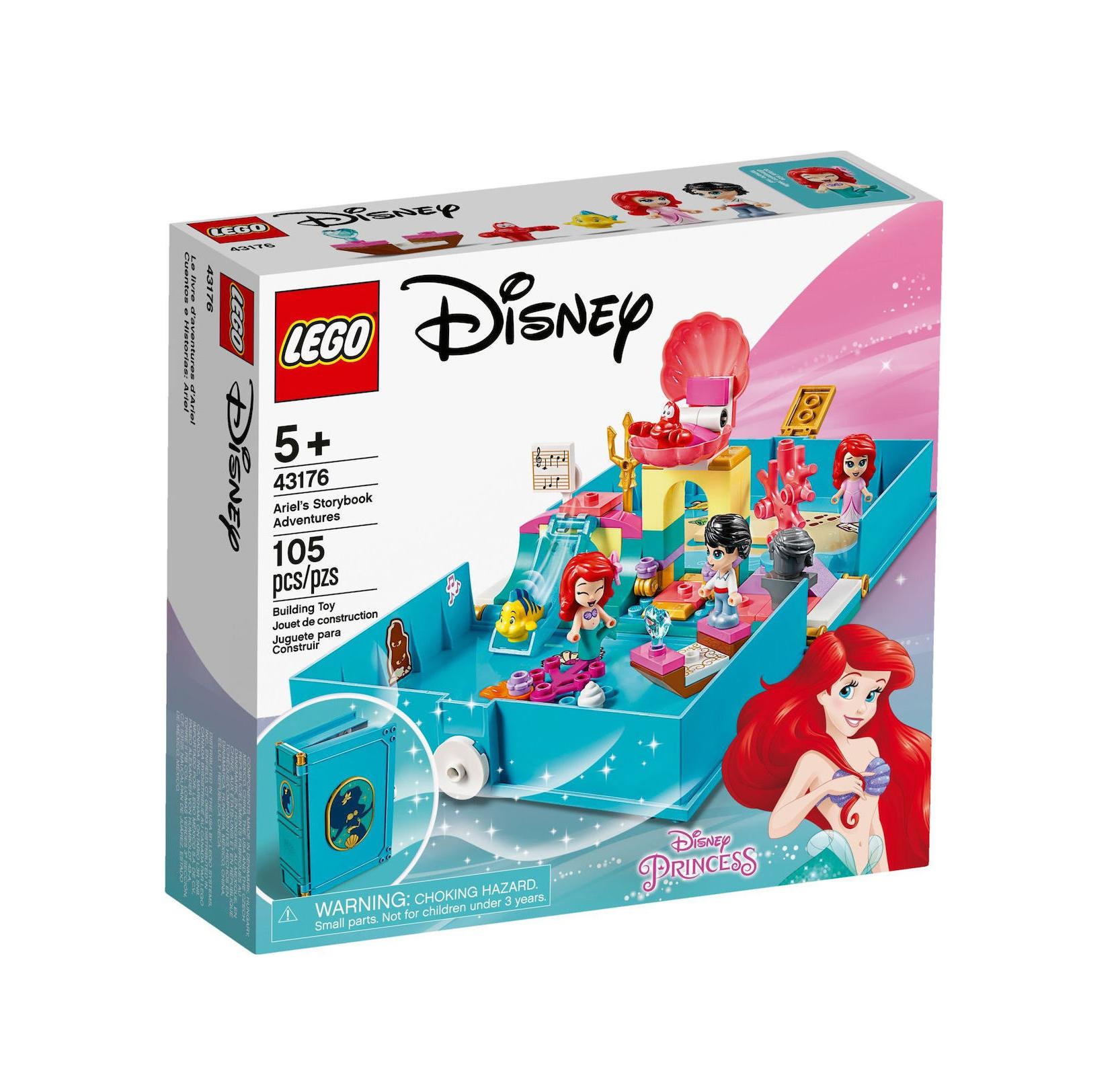 Lego Disney: Ariel's Storybook Adventures 43176