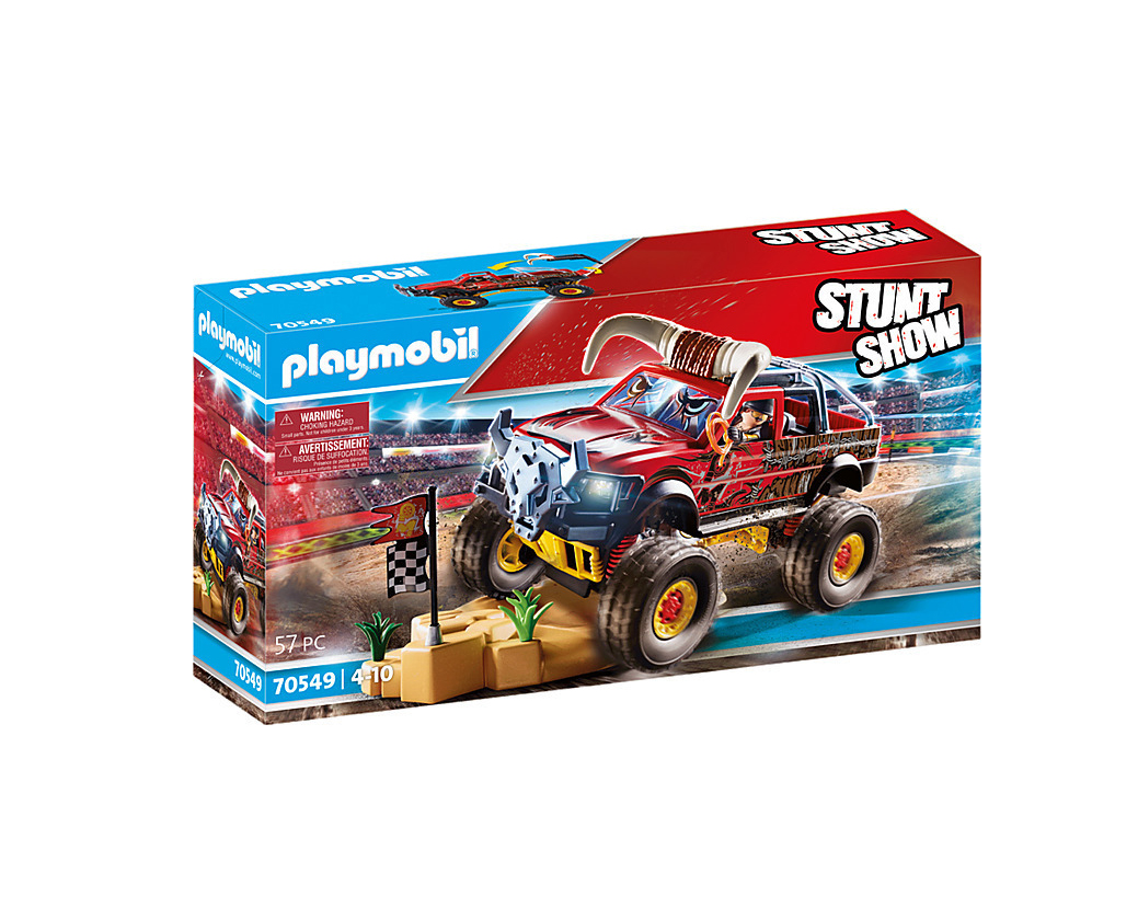 Playmobil Stunt Show: Τέρας-Φορτηγό με Κέρατα 70549