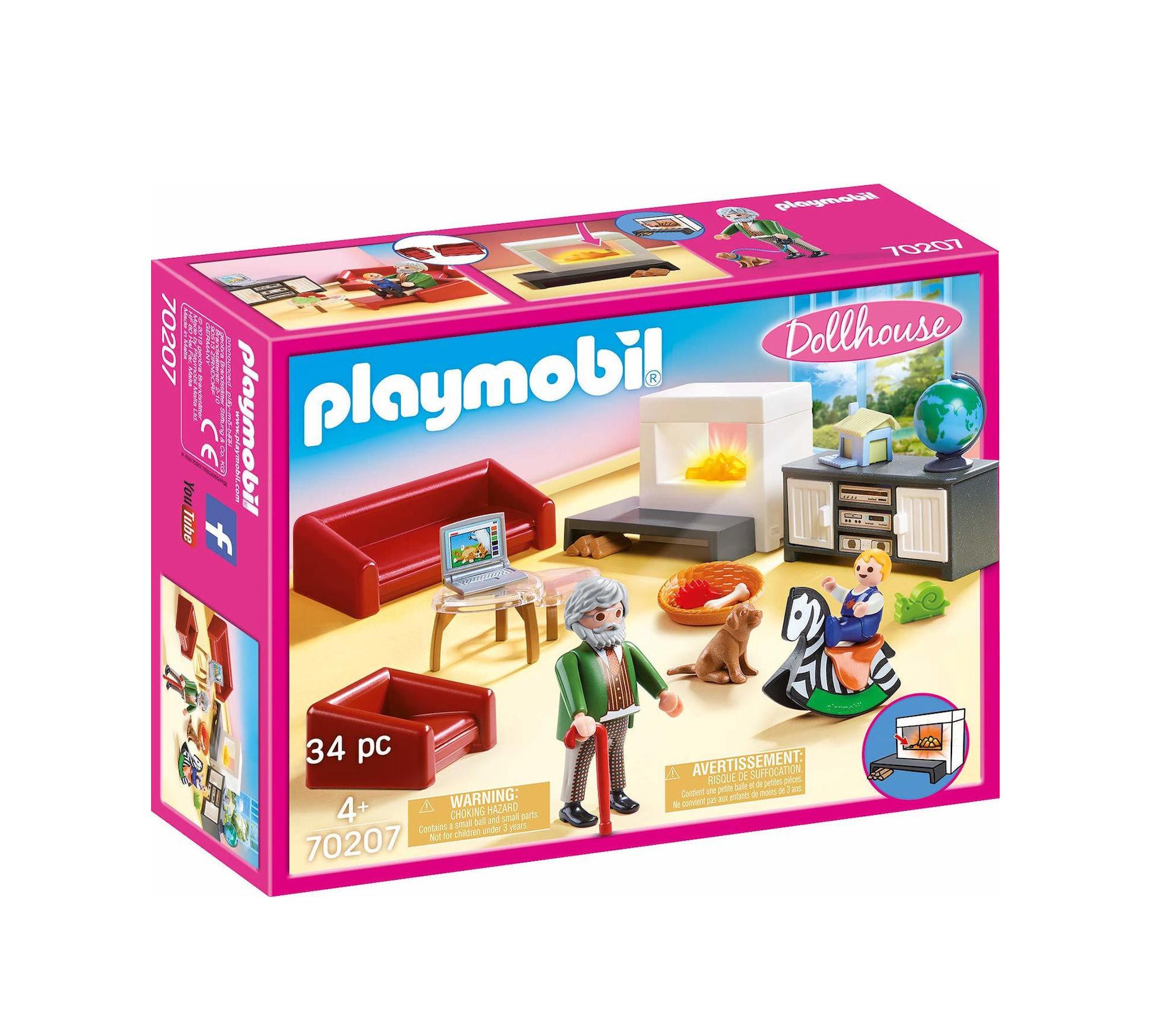 Playmobil Dollhouse: Σαλόνι Κουκλόσπιτου 70207