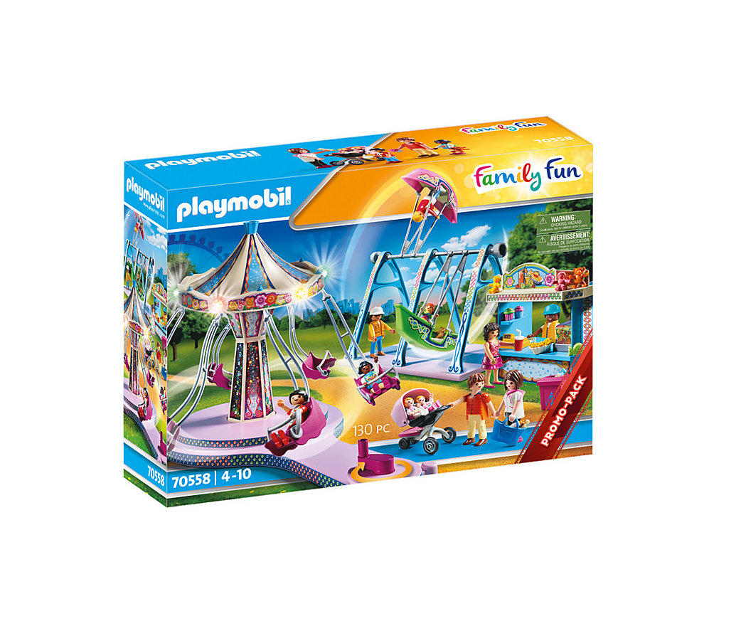 Playmobil Family Fun: Μεγάλο Λούνα Παρκ 70558