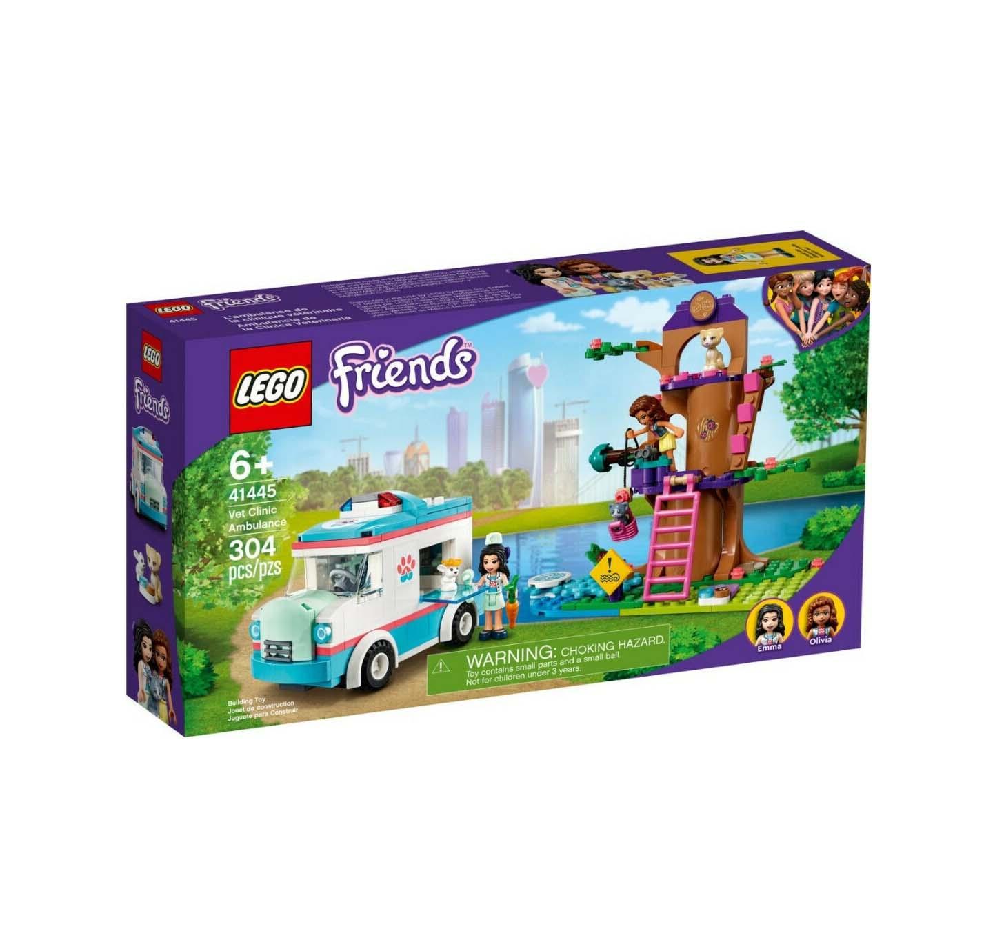 Lego Friends: Vet Clinic Ambulance 41445