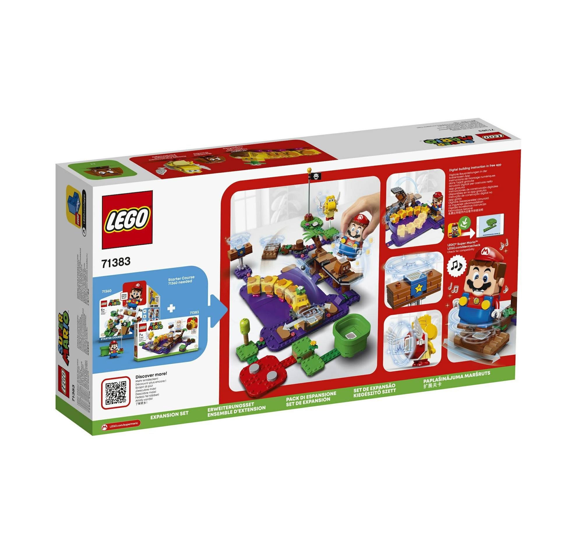 Lego Super Mario: Wiggler's Poison Swamp Expansion Set 71383
