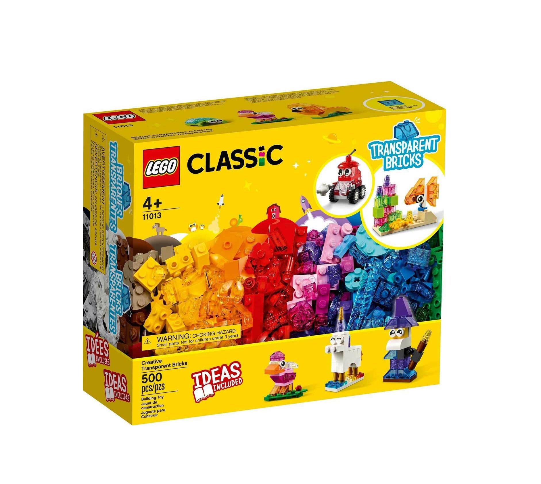 Lego Classic: Creative Transparent Bricks 11013