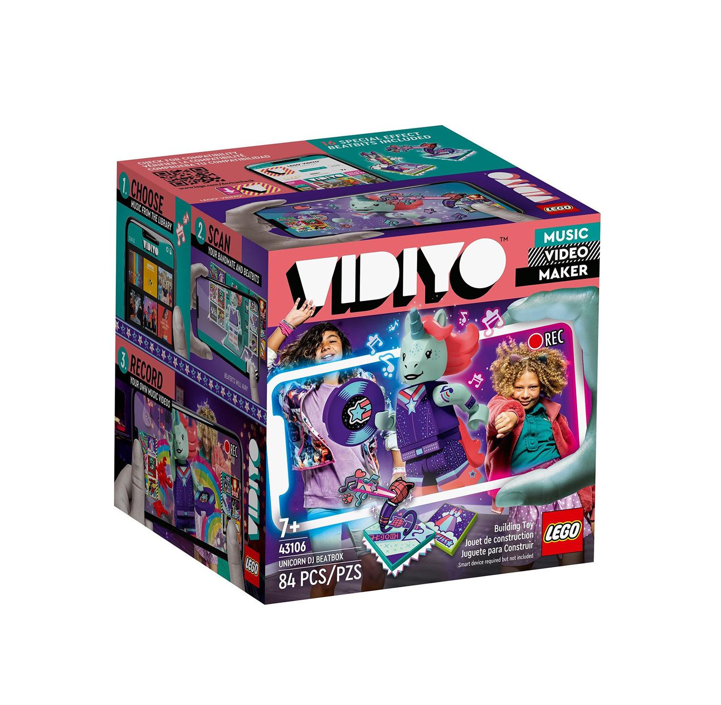 Lego Vidiyo: Unicorn DJ BeatBox 43106