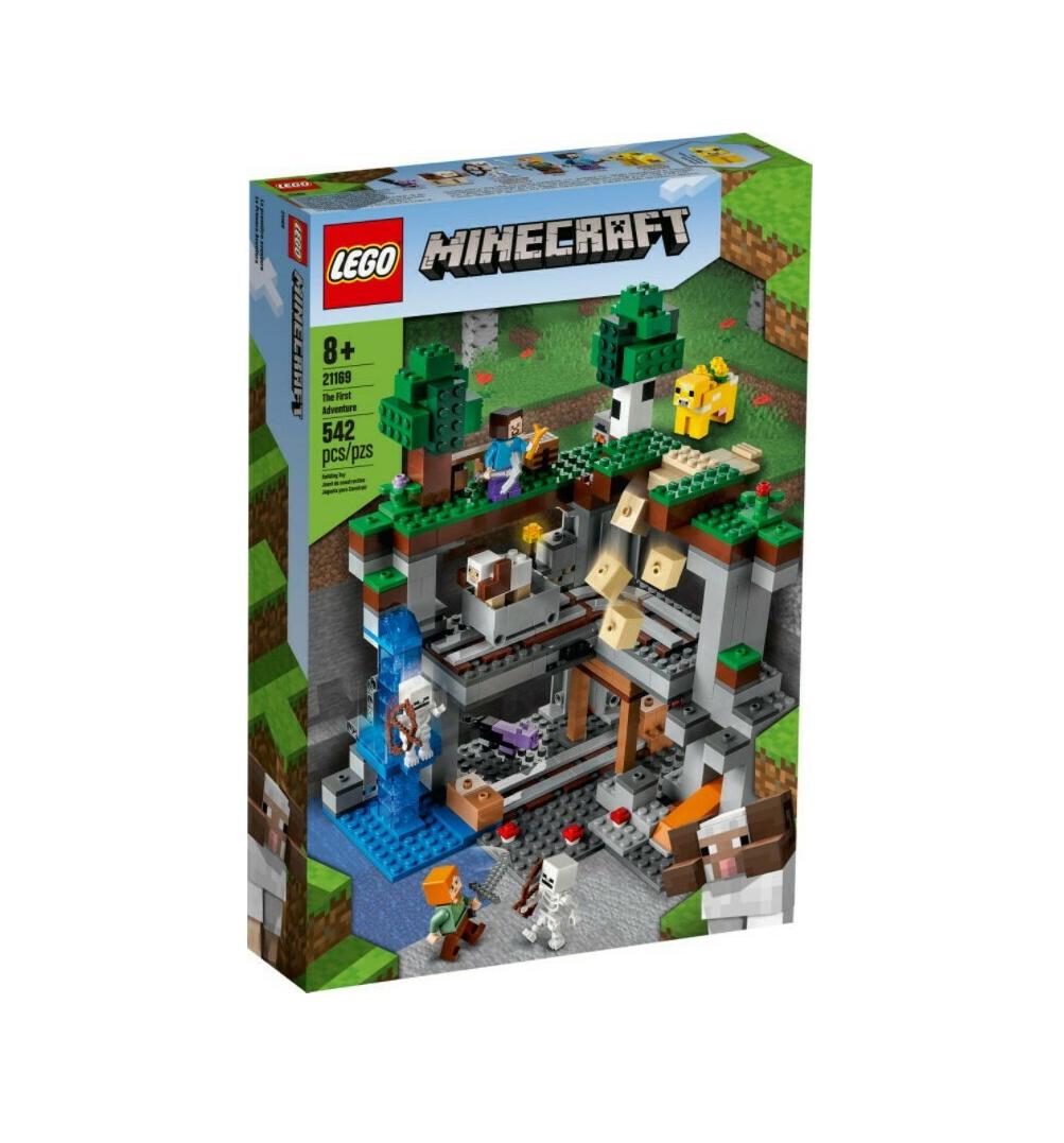 Lego Minecraft: The First Adventure 21169