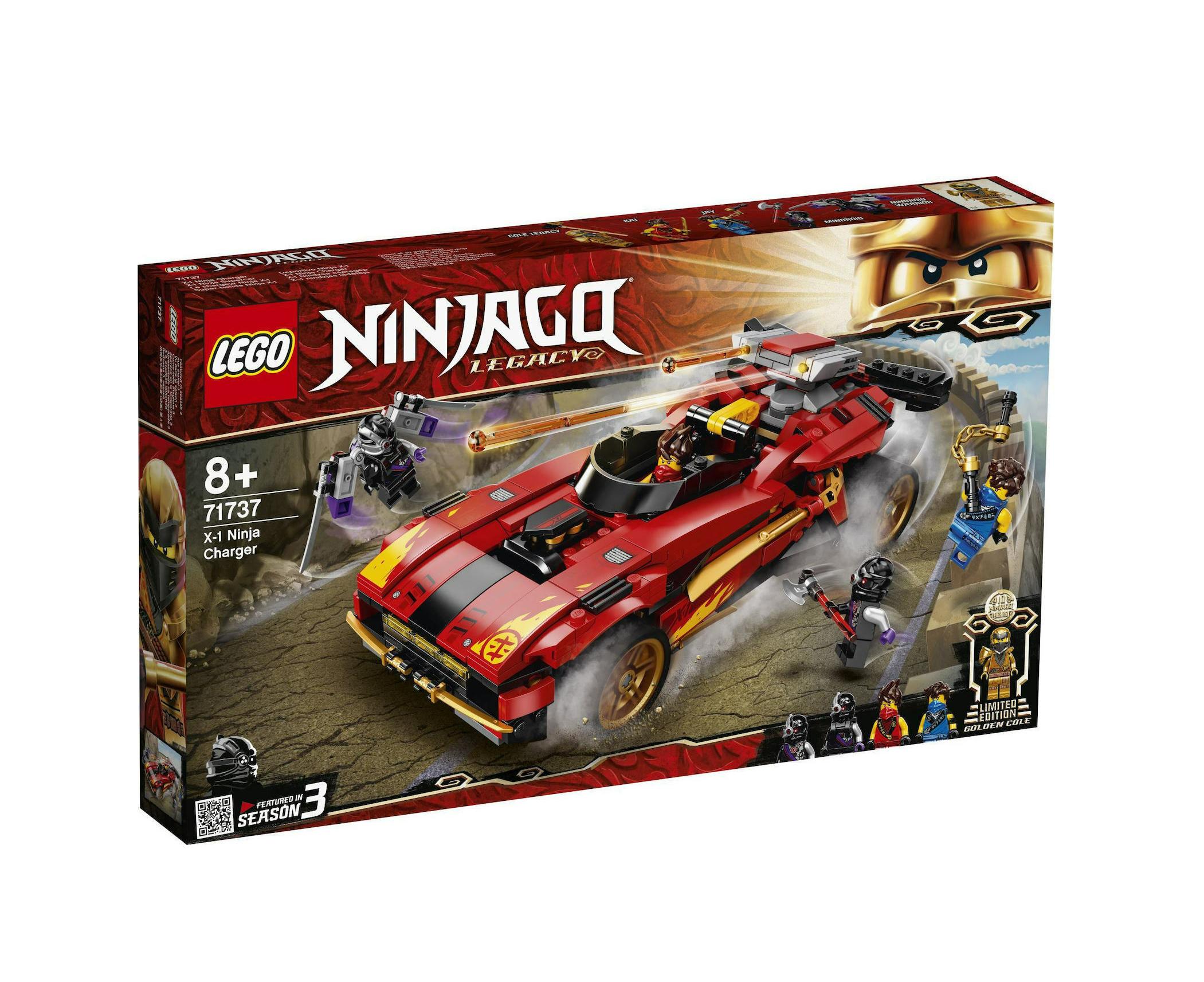 Lego Ninjago: Legacy X-1 Ninja Charger Ninja 71737