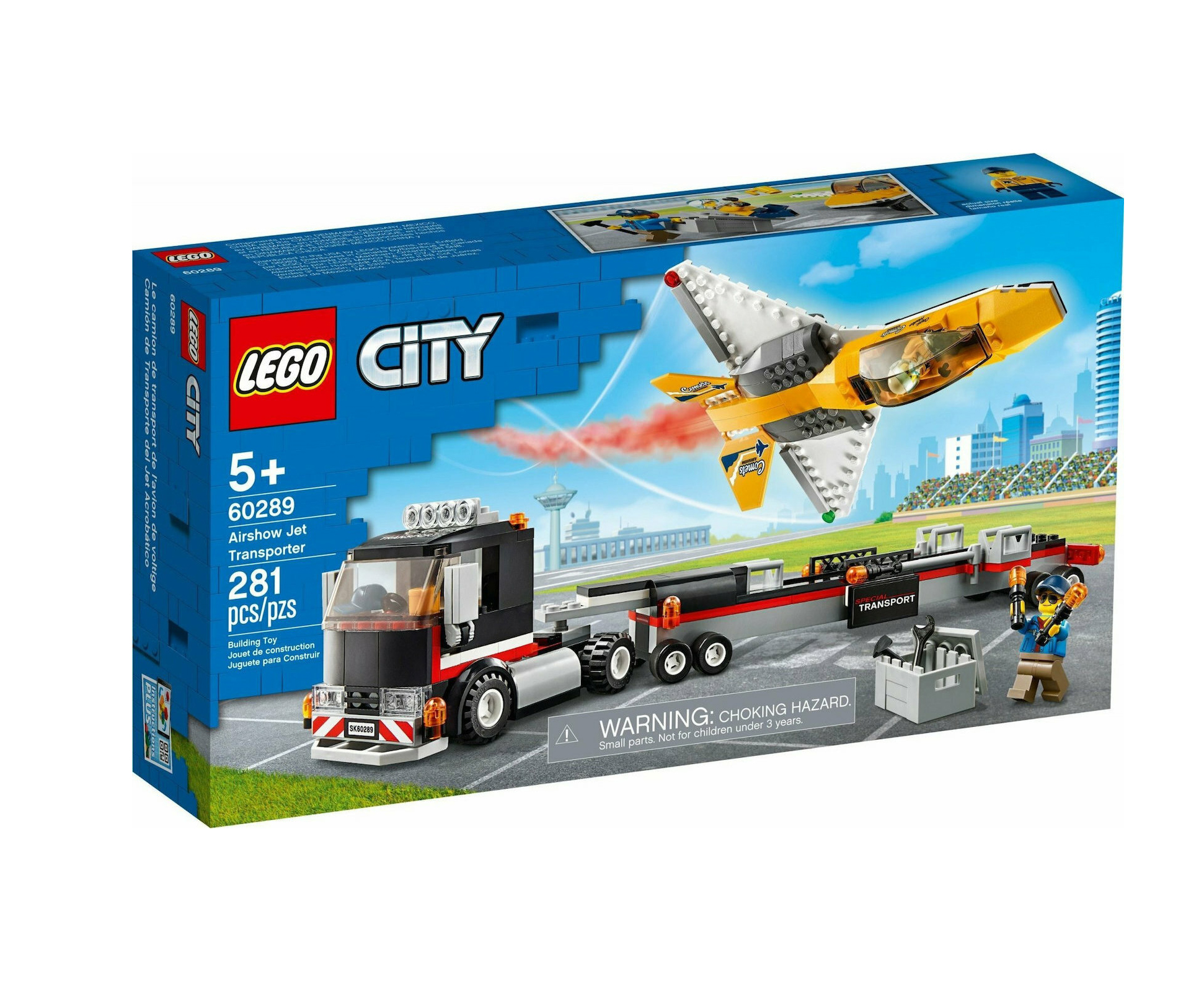 Lego City: Airshow Jet Transporter 60289