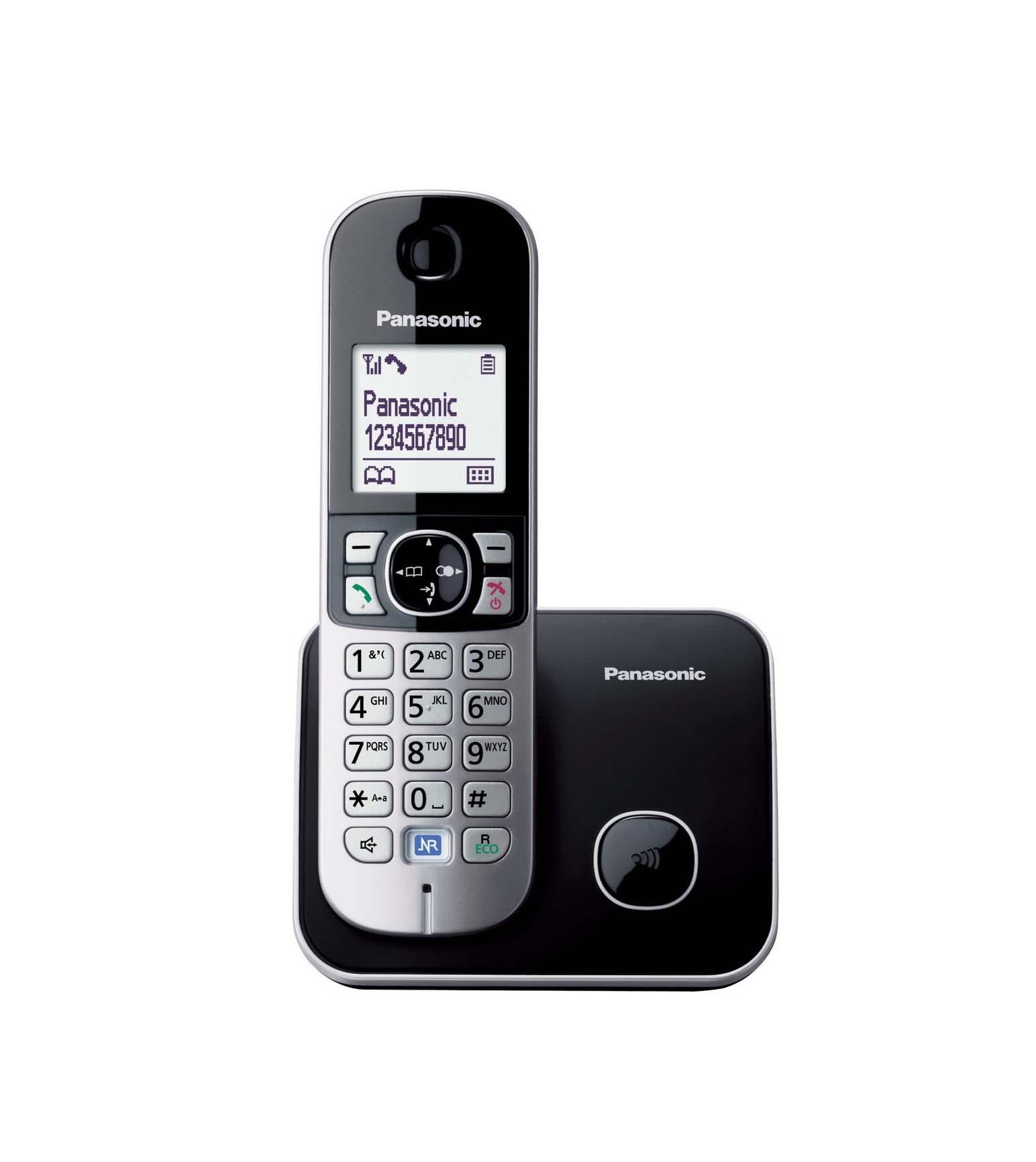 Panasonic KX-TG6811GB Ασύρματο Τηλέφωνο Black