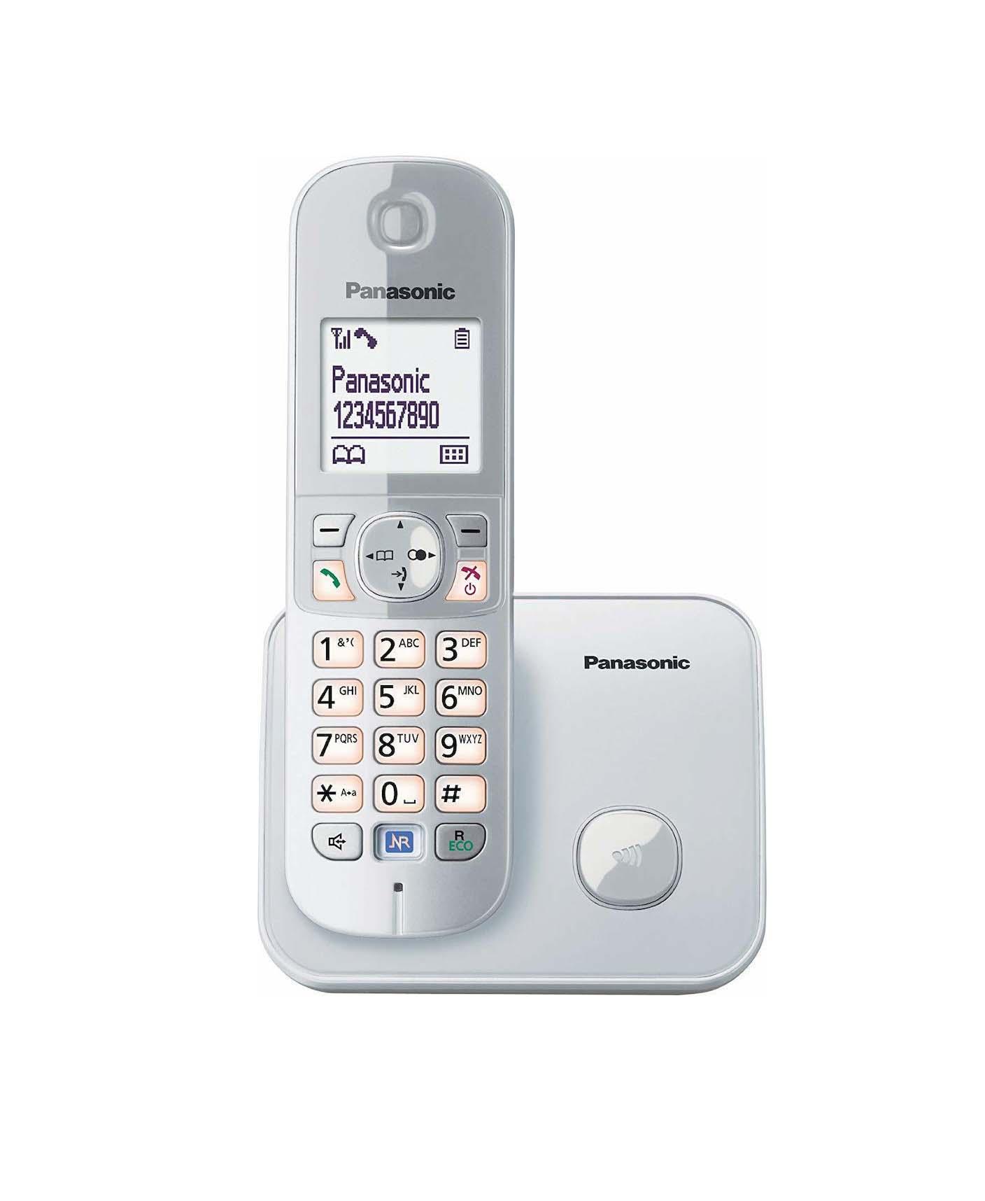 Panasonic KX-TG6811GS Ασύρματο Τηλέφωνο Silver