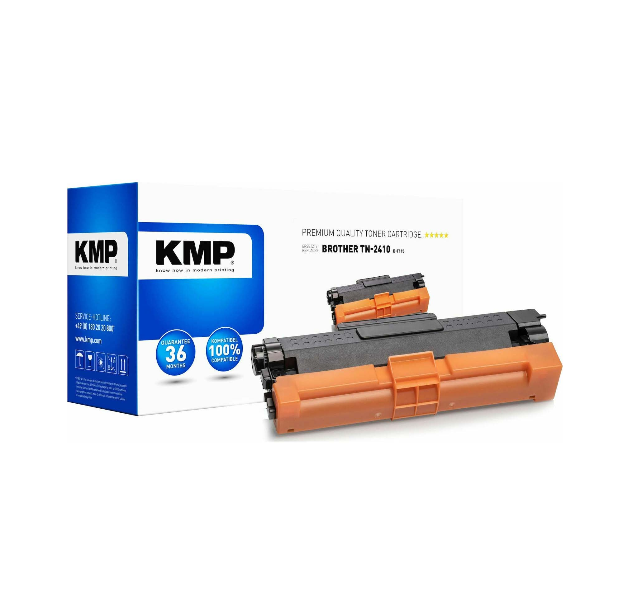 KMP Συμβατό Toner Brother TN-2410 Black 1267,0000