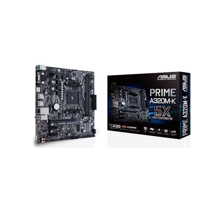 Asus Prime A320M-K Motherboard Micro ATX με AMD AM4 Socket Μητρική Κάρτα 90MB0TV0-M0EAY0