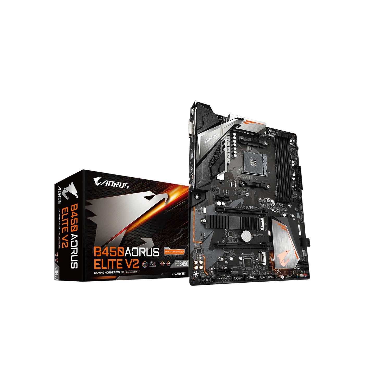 Gigabyte Gigabyte B450 Aorus Elite V2 Motherboard ATX με AMD AM4 Socket Μητρική Κάρτα