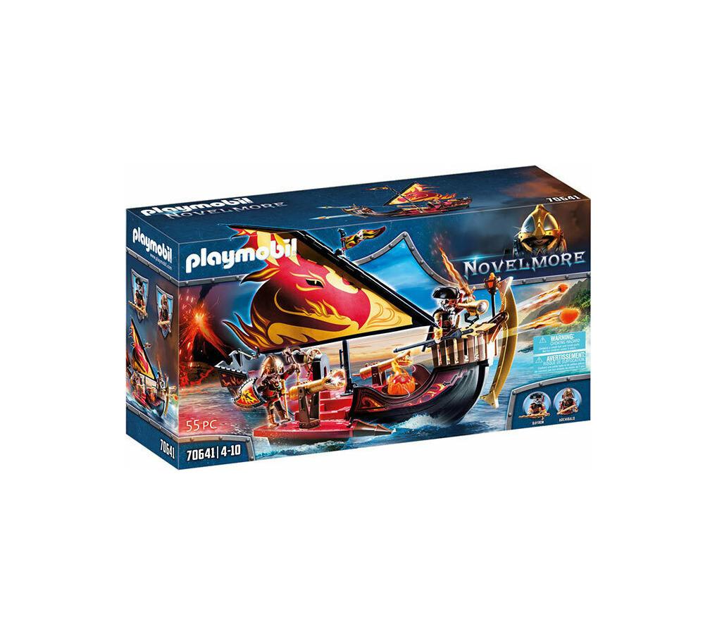 Playmobil Novel More: Πλοίο της Φωτιάς του Burnham 70641