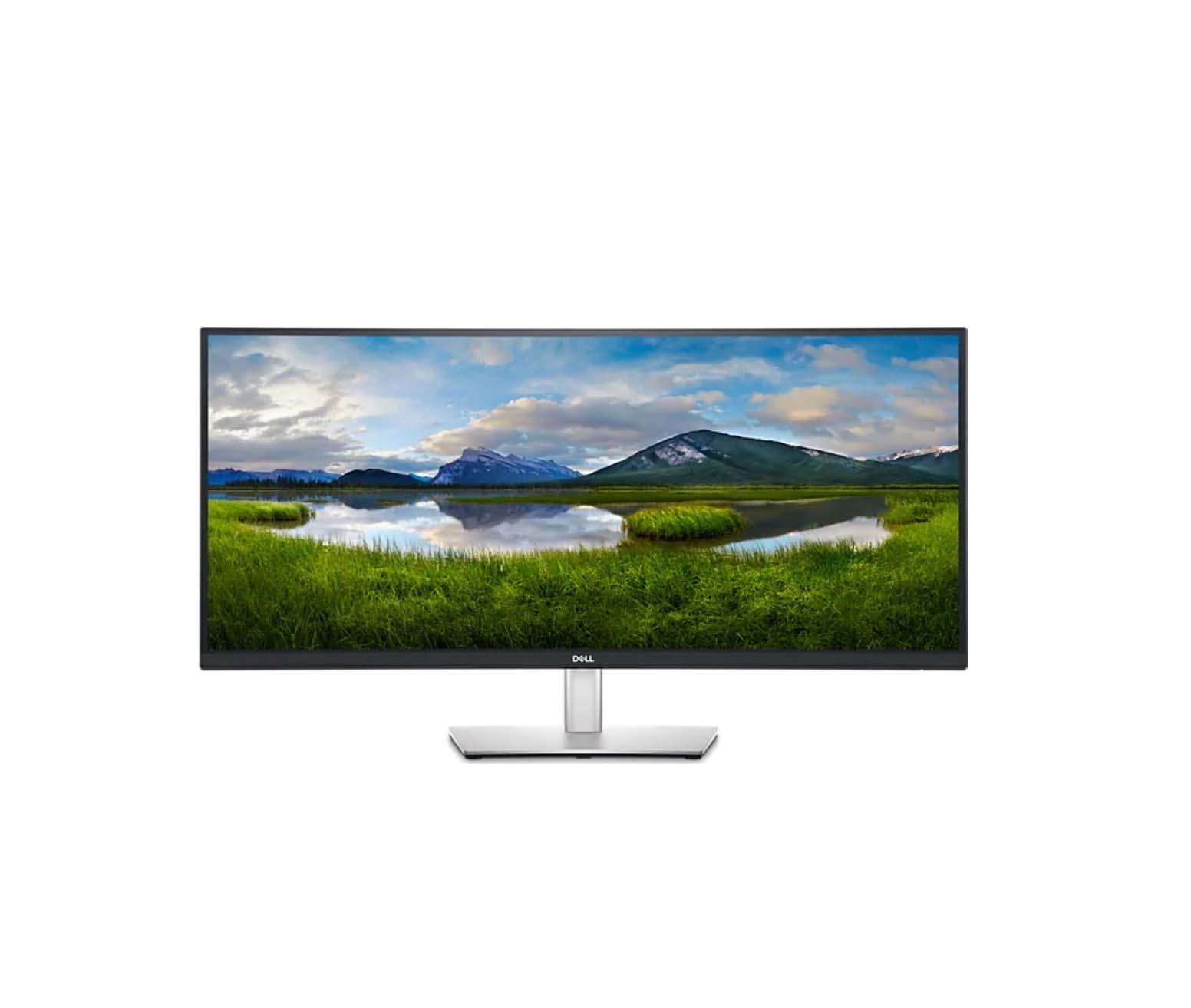 """Dell P3421W Curved Monitor 34"""" QHD Οθόνη  Πληρωμή έως 24 δόσεις"""