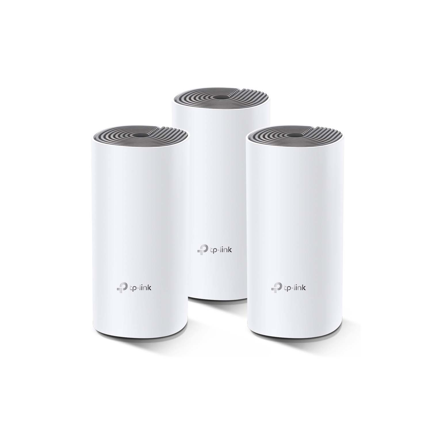 TP-Link Deco E4 WiFi Router AC1200, Dual Band, Mesh, RJ45 100Mb/s 3-Pack