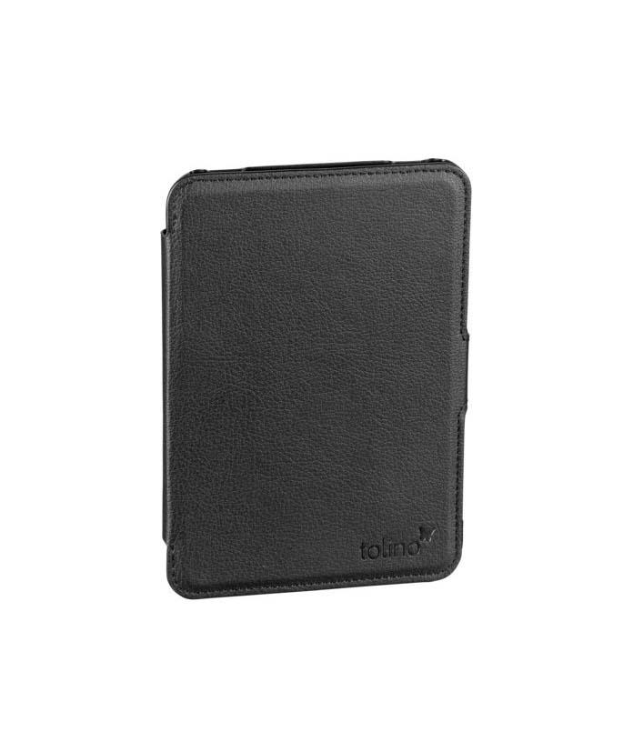 Tolino Shine Slim Leather Bag Black