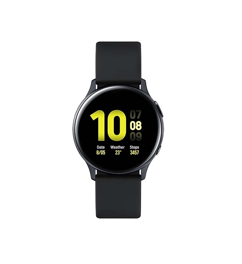 Samsung Galaxy Watch Active 2 R830 Aluminium 40mm Black Πληρωμή έως 24 δόσεις*