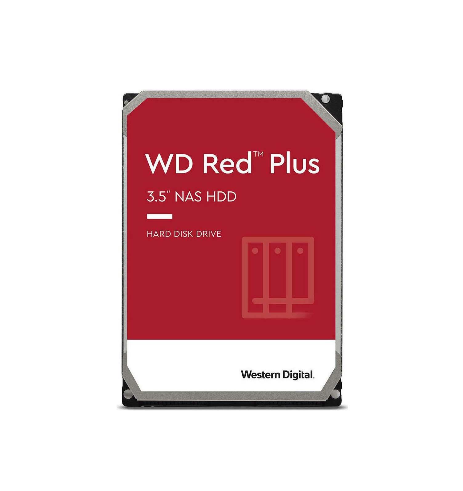 Western Digital Red Plus 6TB WD60EFZX Σκληρός Δίσκος 3.5'' Sata 3
