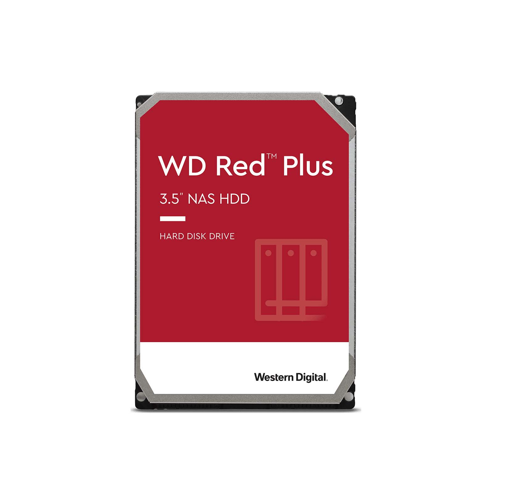 Western Digital Red Plus 8TB WD80EFBX Σκληρός Δίσκος 3.5'' Sata 3