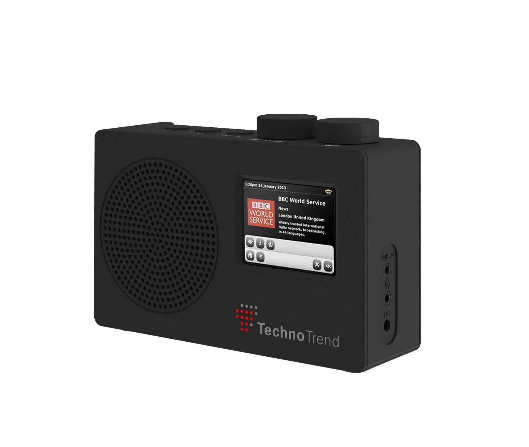Technotrend P1 Black Ραδιόφωνο 1-02-1-00027