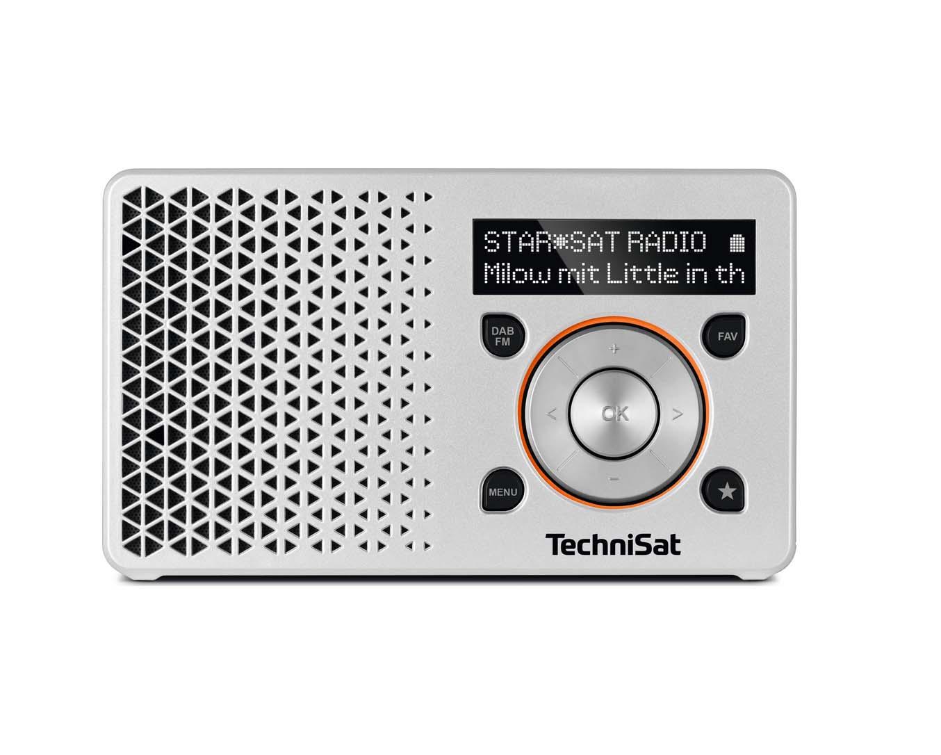 Technisat Digitradio 1 Silver/Orange Ραδιόφωνο 0003/4997