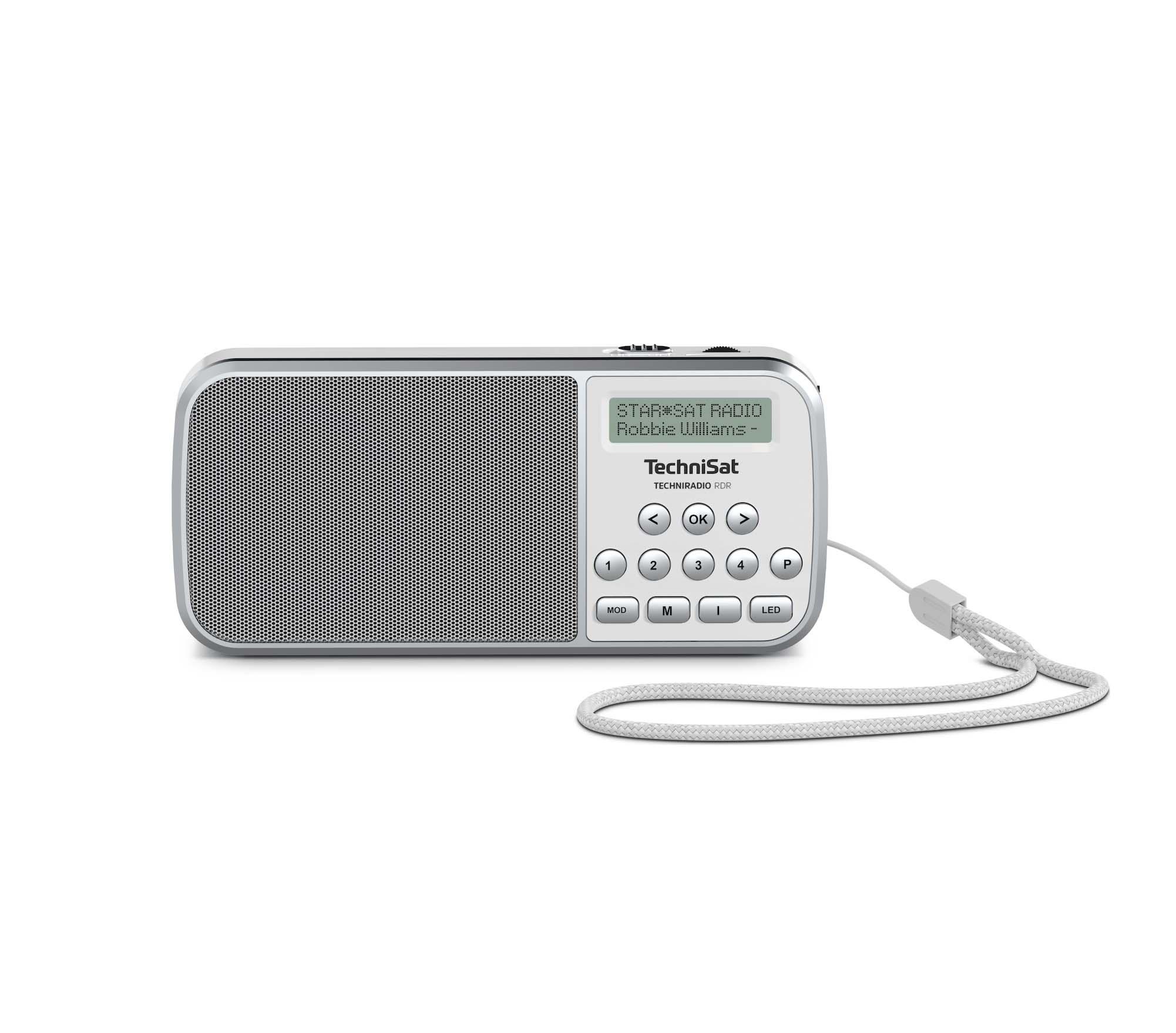 Technisat TechniRadio White Ραδιόφωνο 0001/3922