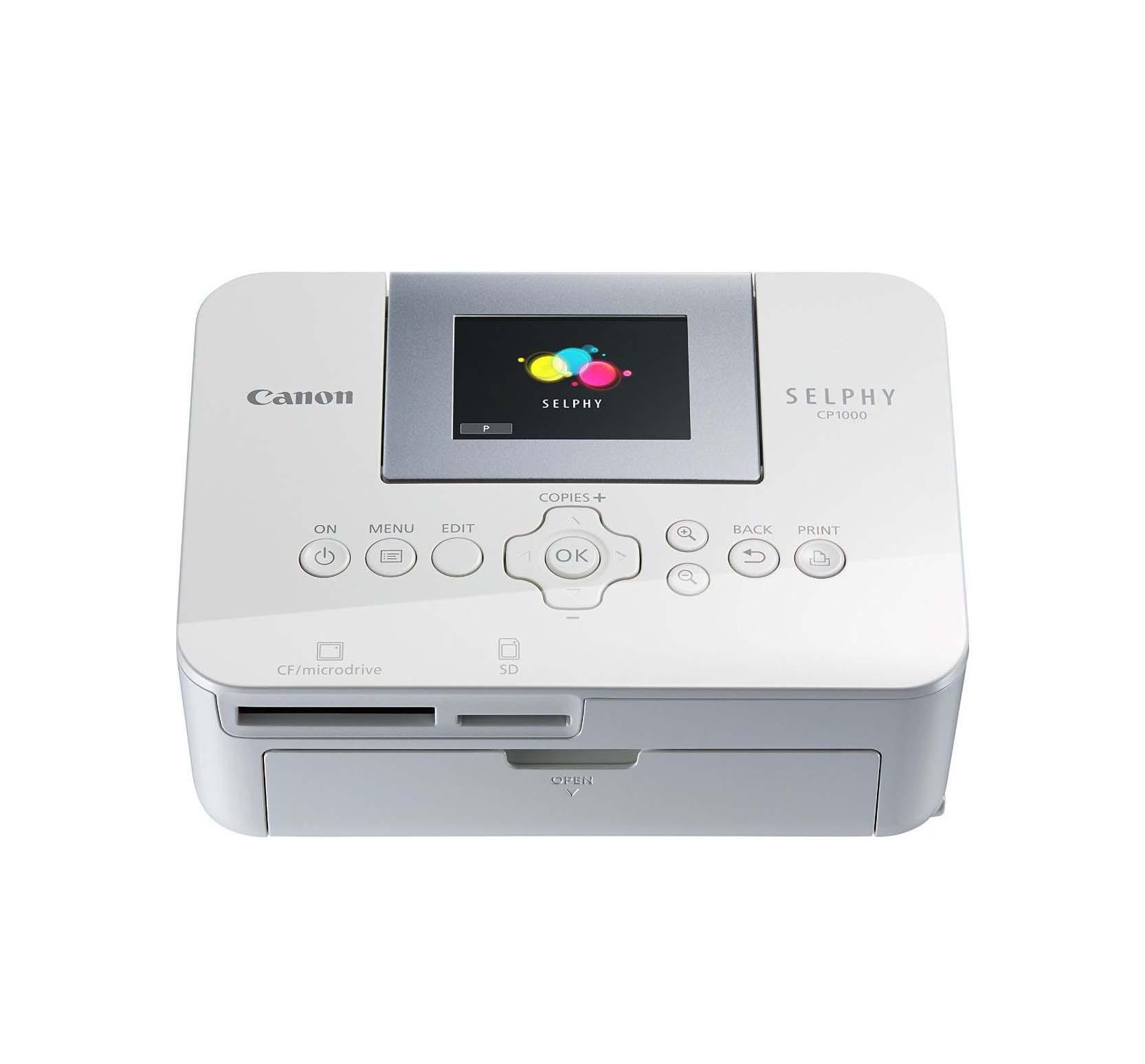 Canon Selphy CP1000 0011C012 Εκτυπωτής White