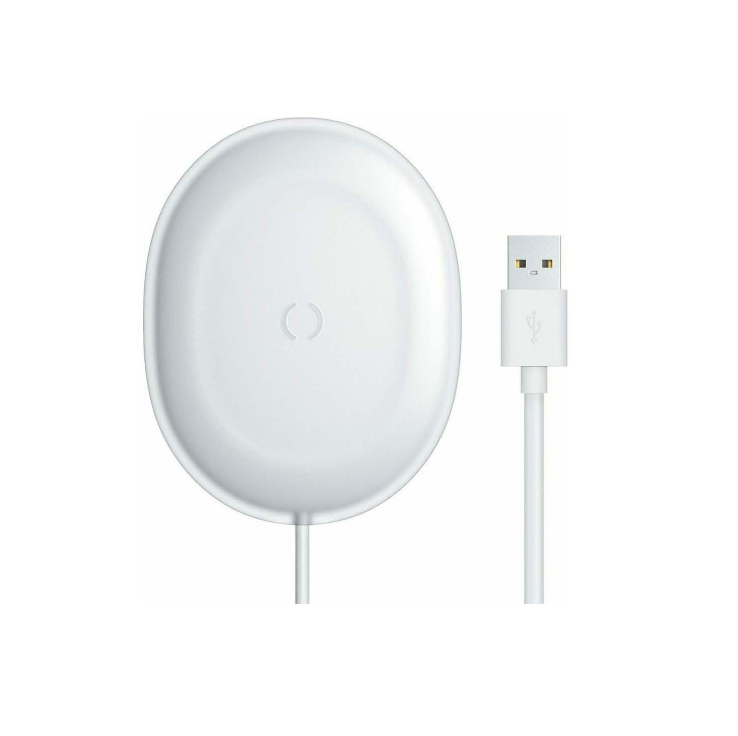 Baseus Wireless Charging Pad (Qi) Jelly 15W WXGD-02 White