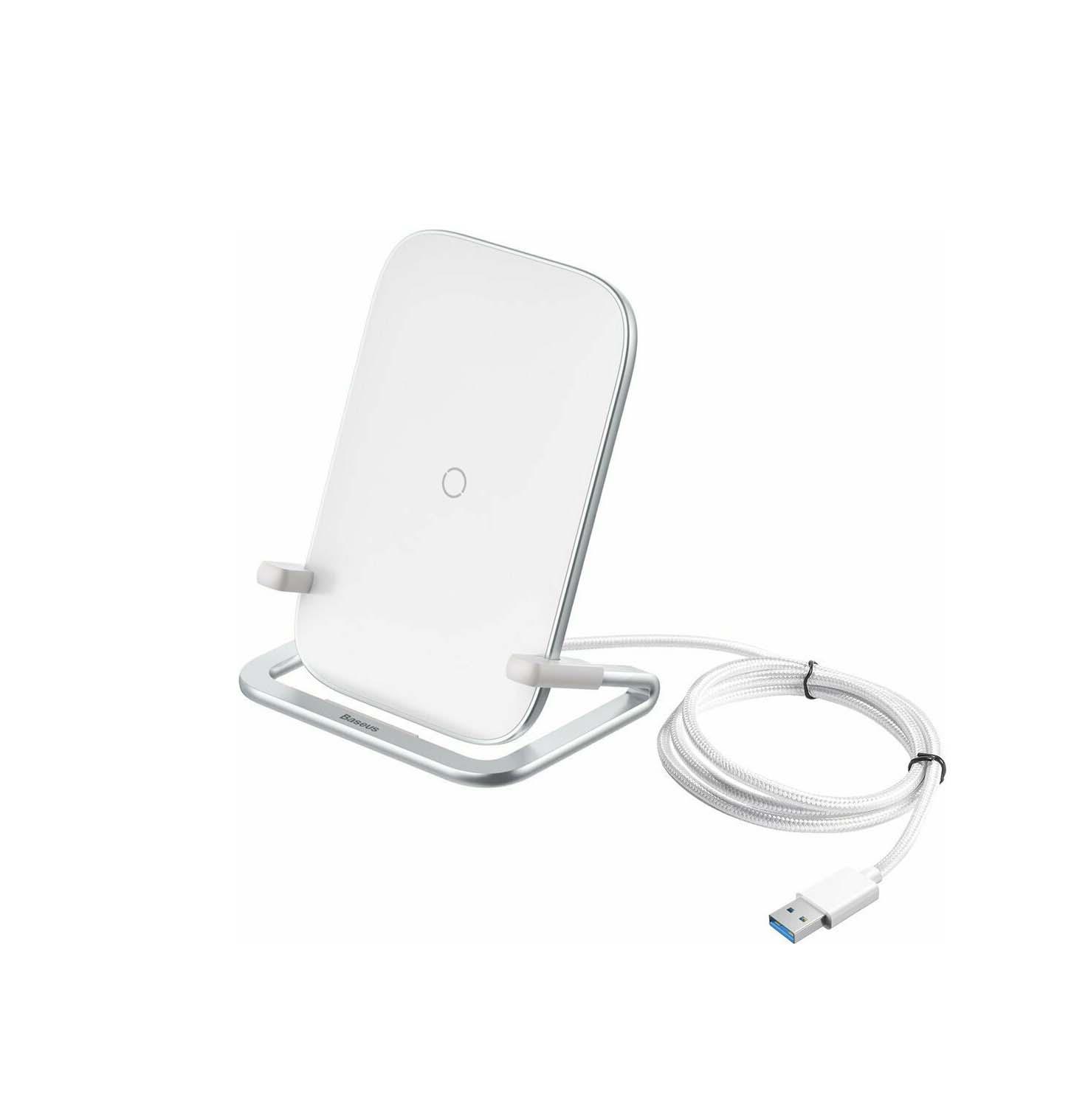 Baseus Wireless Charging Pad (Qi) Rib Inductive 15W WXPG-02 White