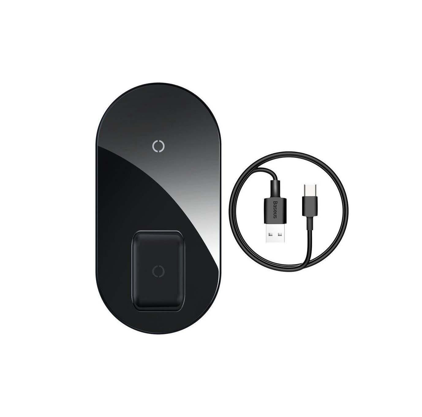 Baseus Wireless Charging Pad (Qi)  18W WXJK-01 Black